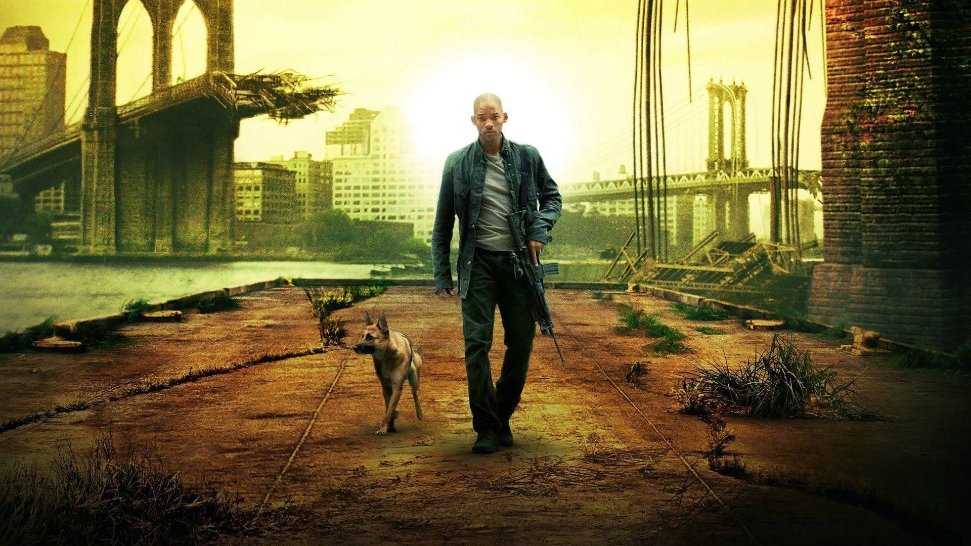1920x1080 Will Smith Best Stills in I am Legend - HD Wallpapers Free .
