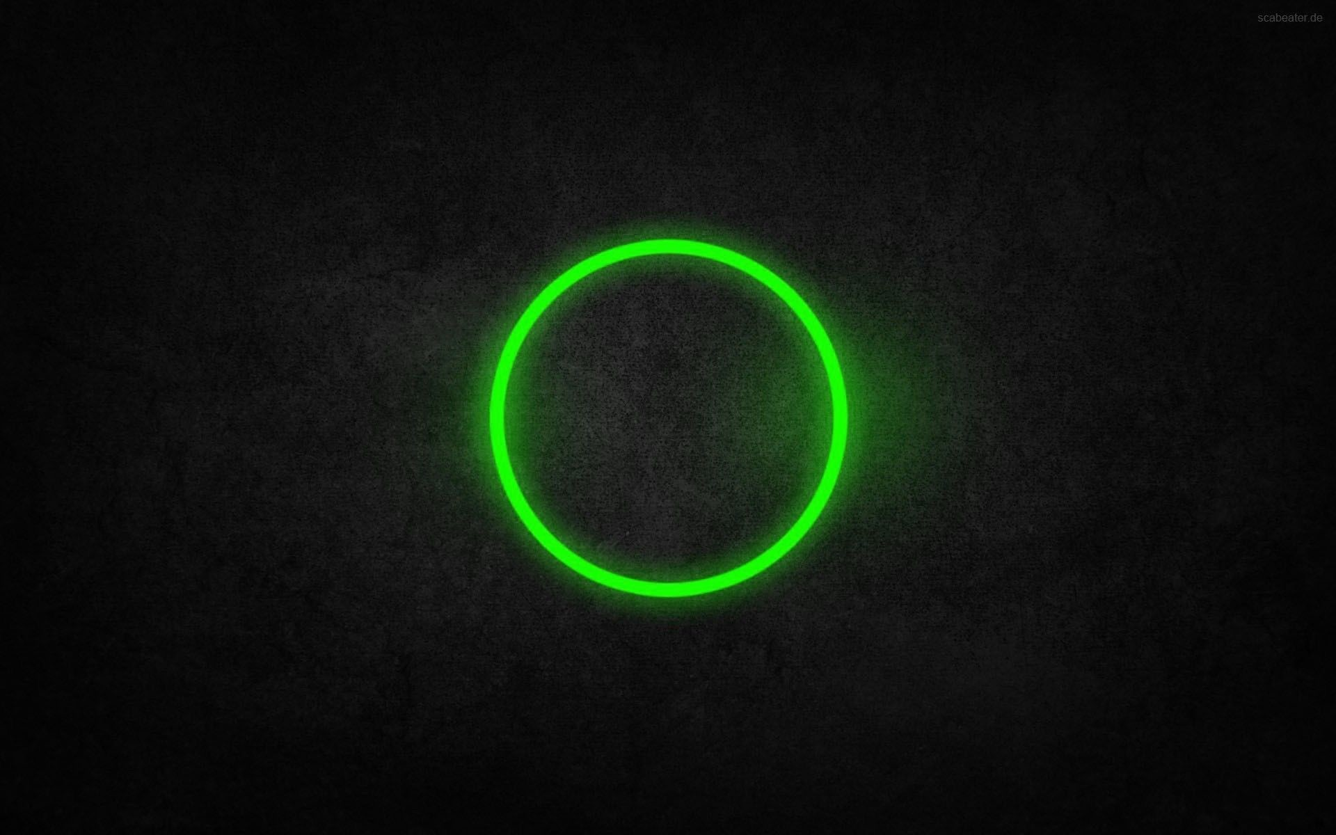 1920x1200 All Black Wallpapers Android Group. General  green circle