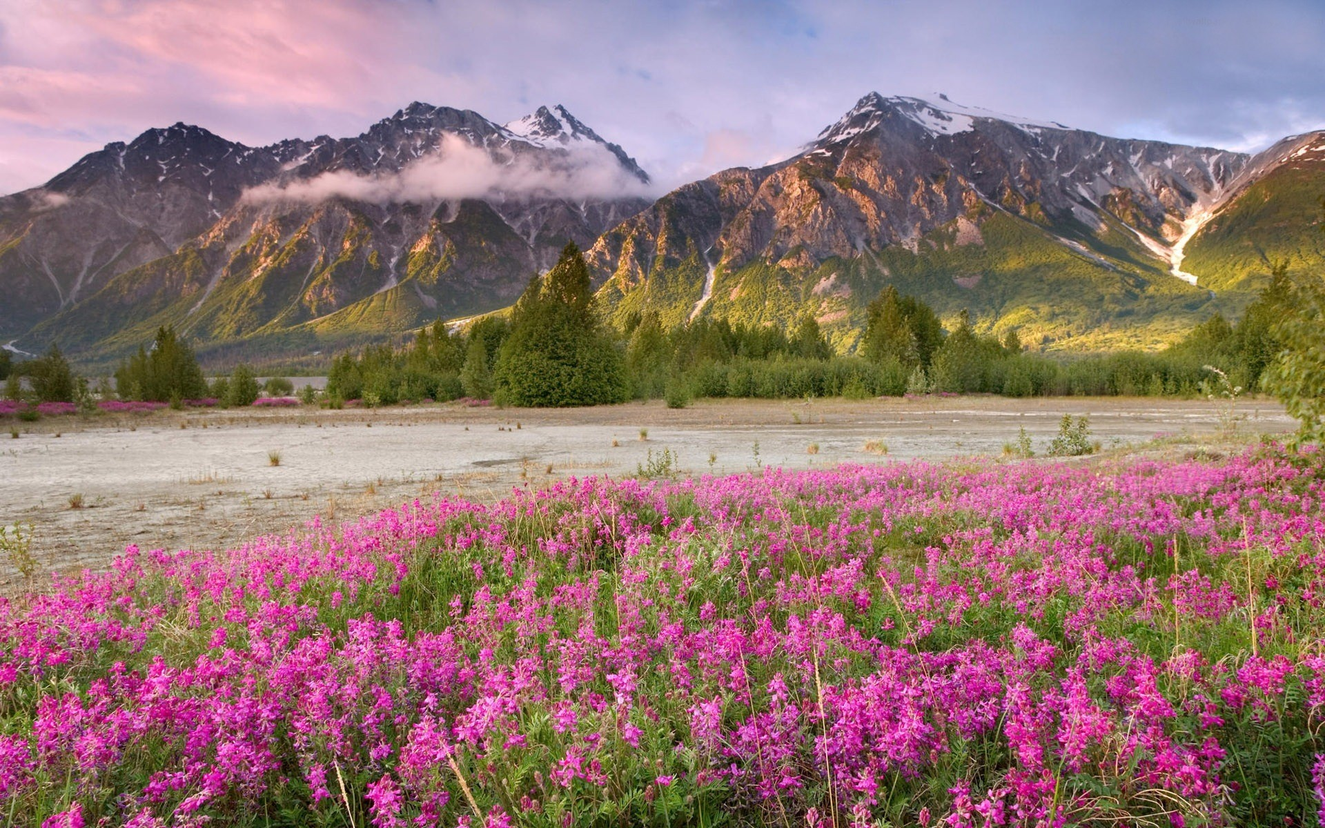 1920x1200 mountain images free | Spring Mountains desktop wallpaper
