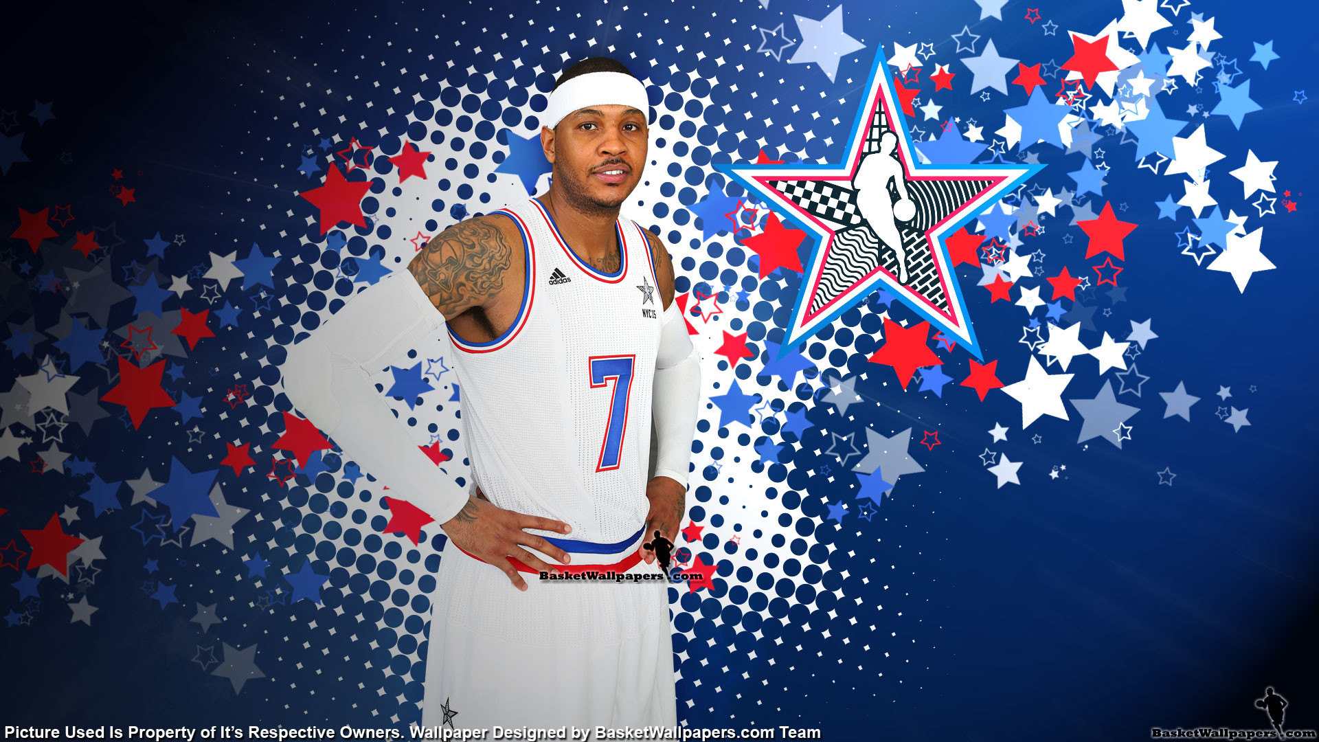 1920x1080 Carmelo Anthony 2015 NBA All-Star Wallpaper