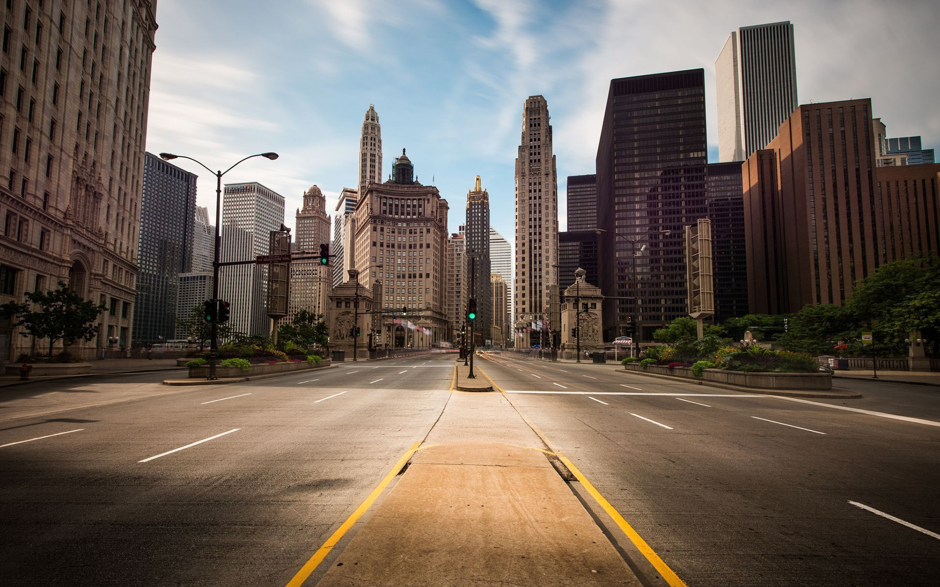 1920x1200 Chicago Street Hd Wallpaper City Street Backgrounds – Wallpaper Cave