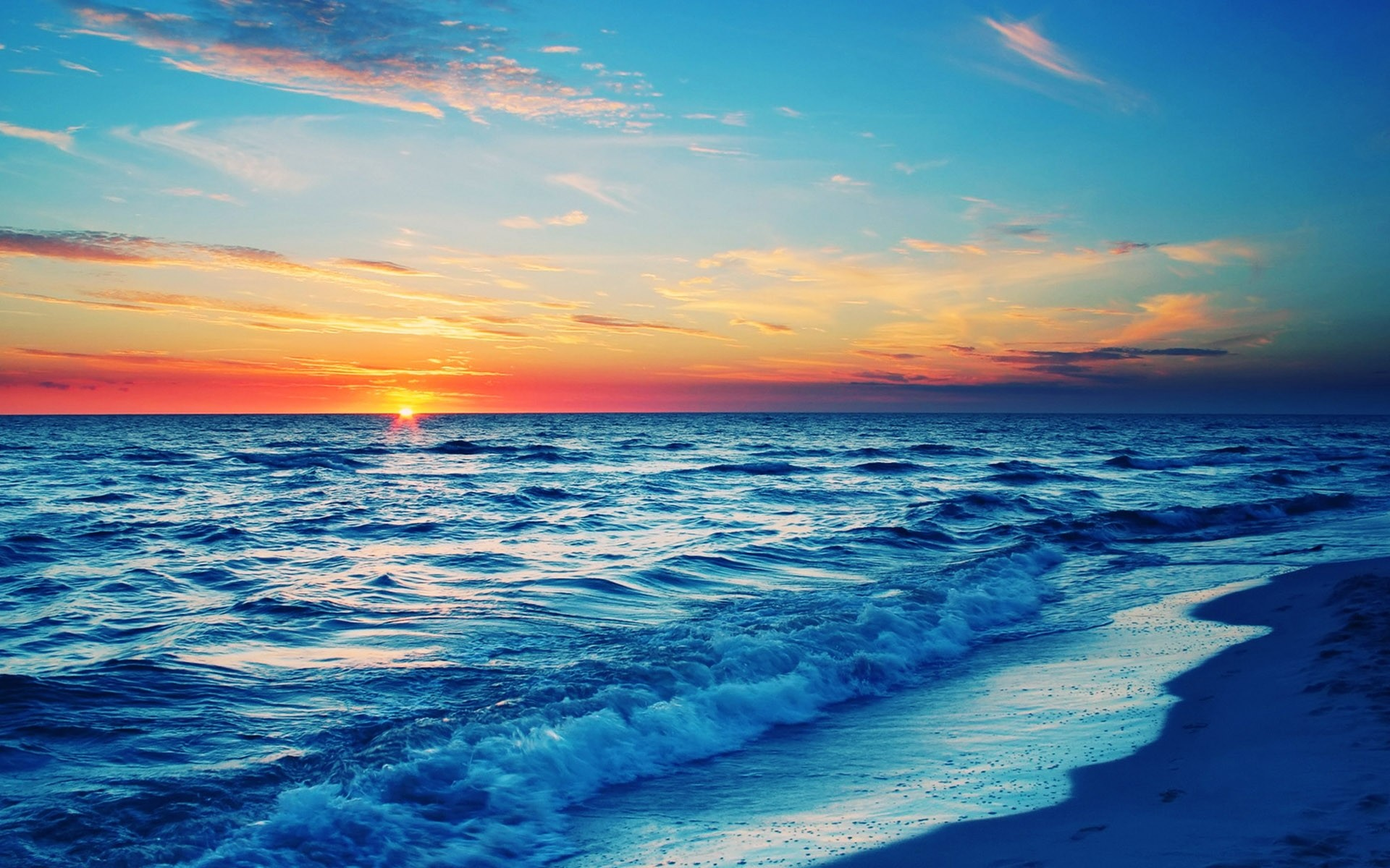 Beach Waves Wallpapers for Desktop (55+ images)