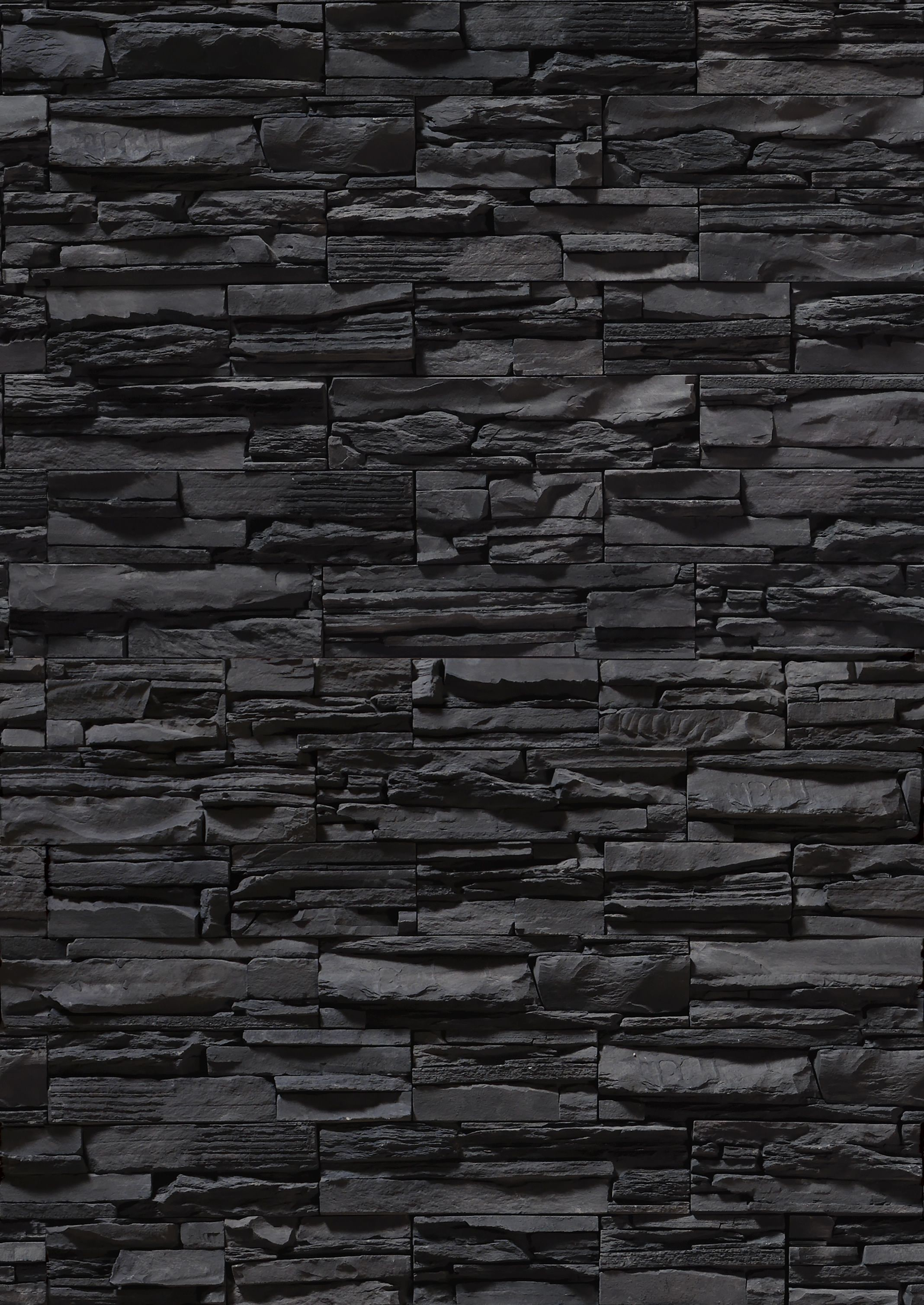2136x3015 Black stone, wall, texture stone, stone wall, download background, black  stone background. Repinned by Lapicida.com.