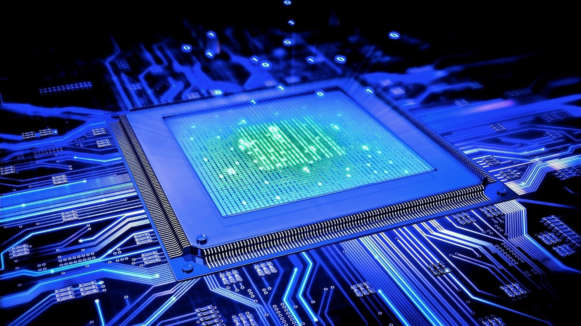 technology computer hd background circuit