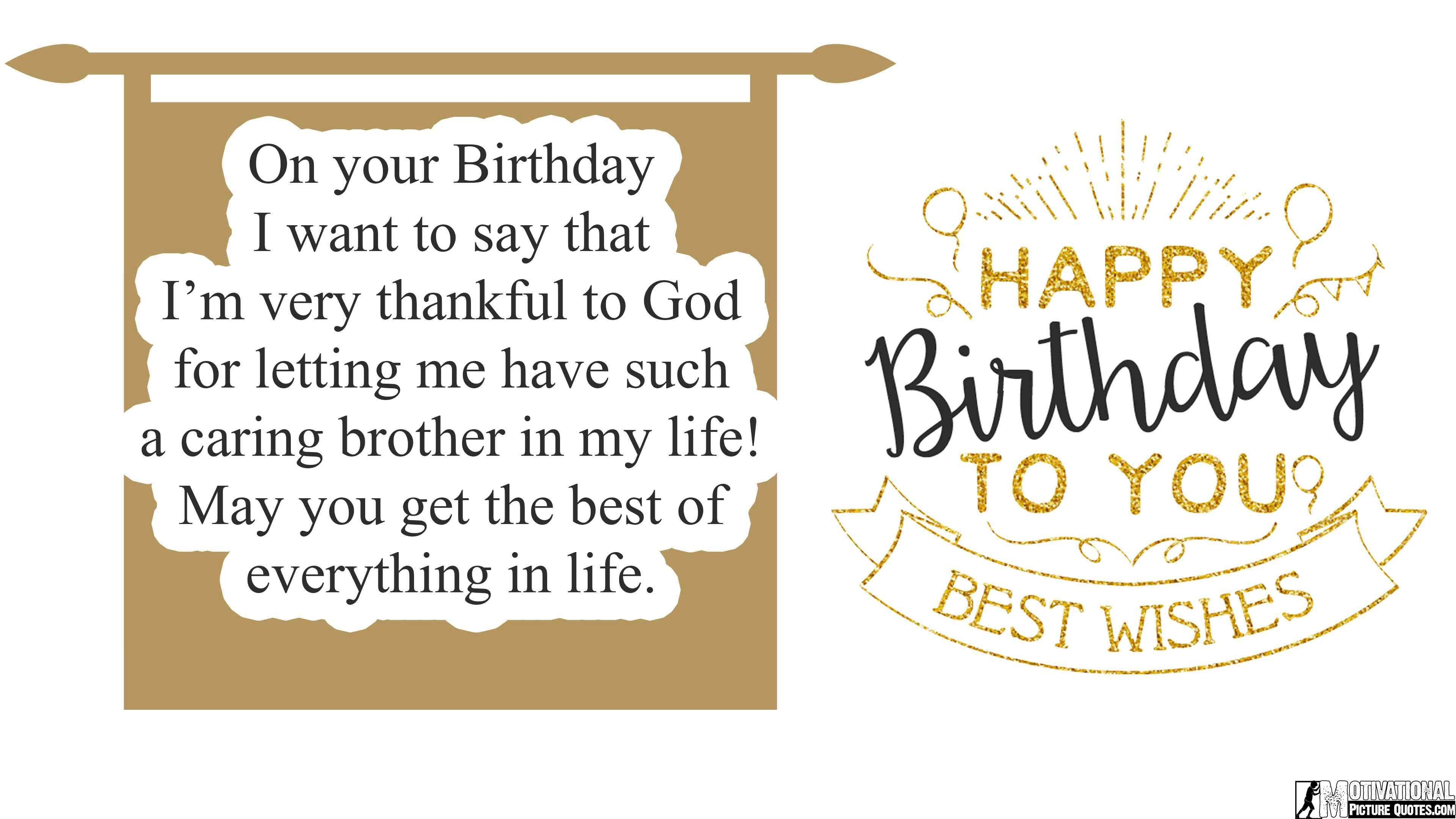 3840x2160 birthday messages for brother from sister