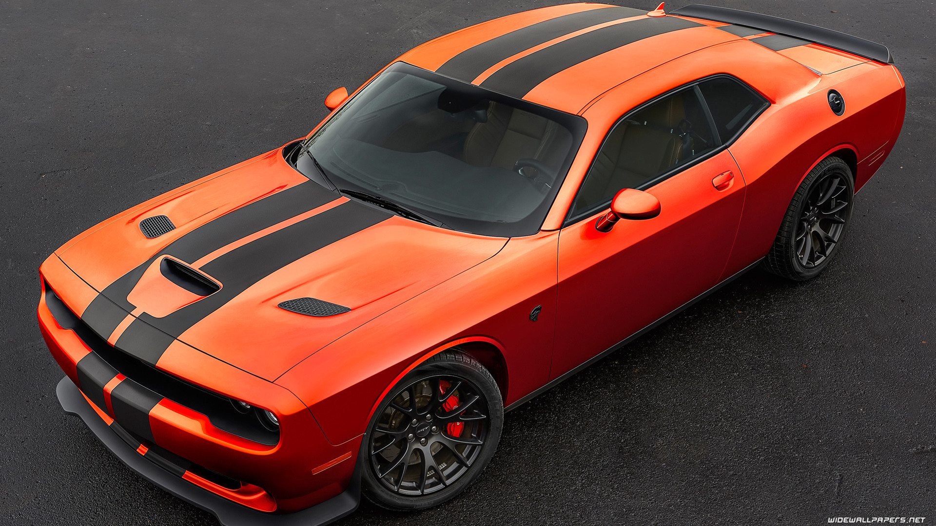 1920x1080 Dodge Challenger SRT Hellcat Go Mango car wallpapers