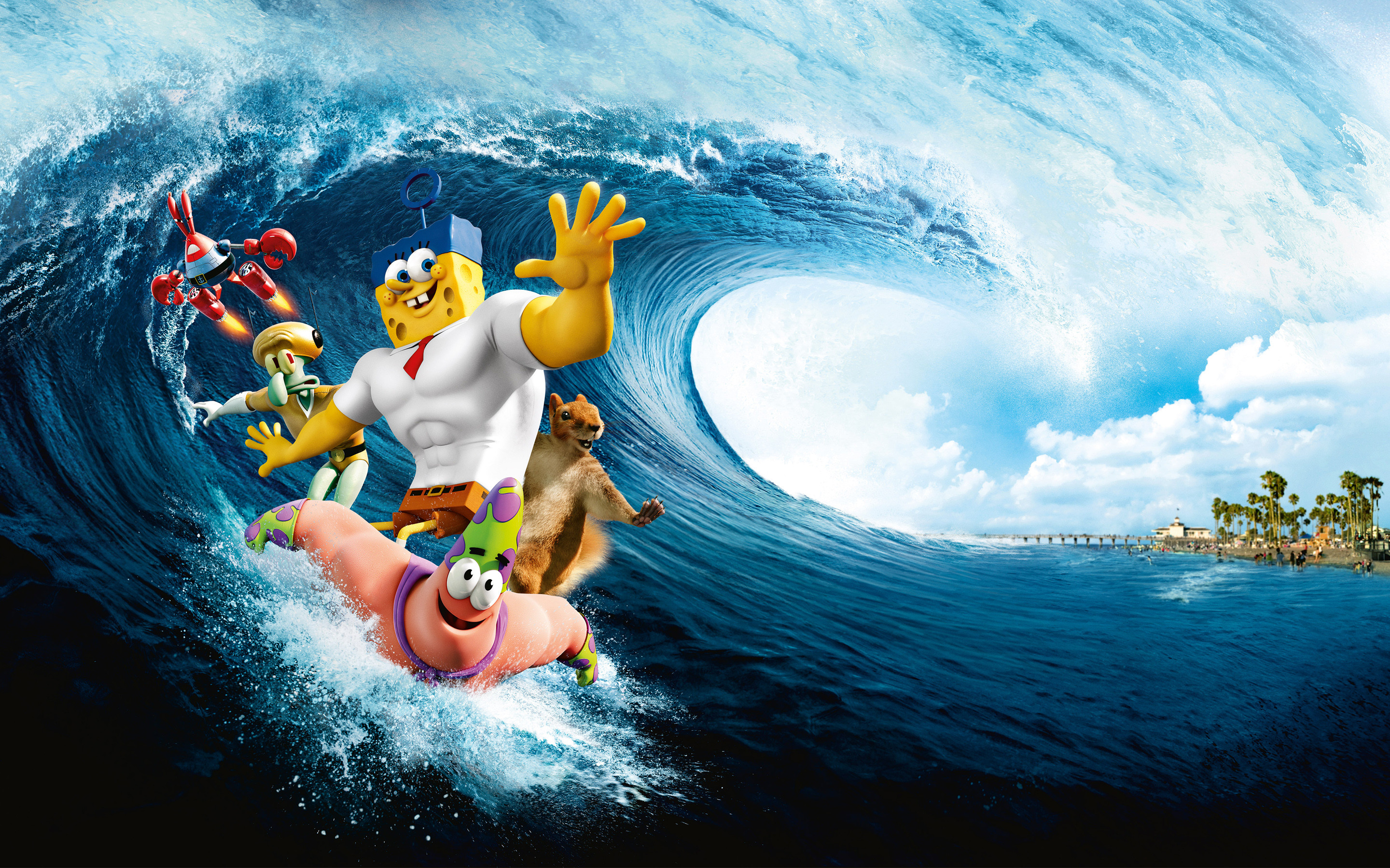 2880x1800 Spongebob Movie Wallpaper Background 6650