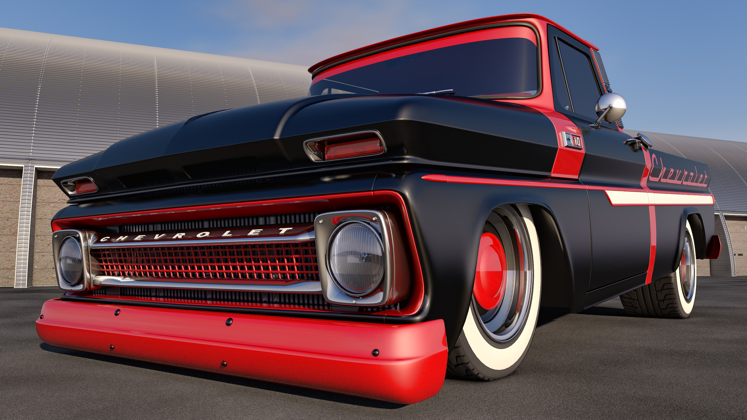 C10 Truck Wallpaper Wallpaper Collection