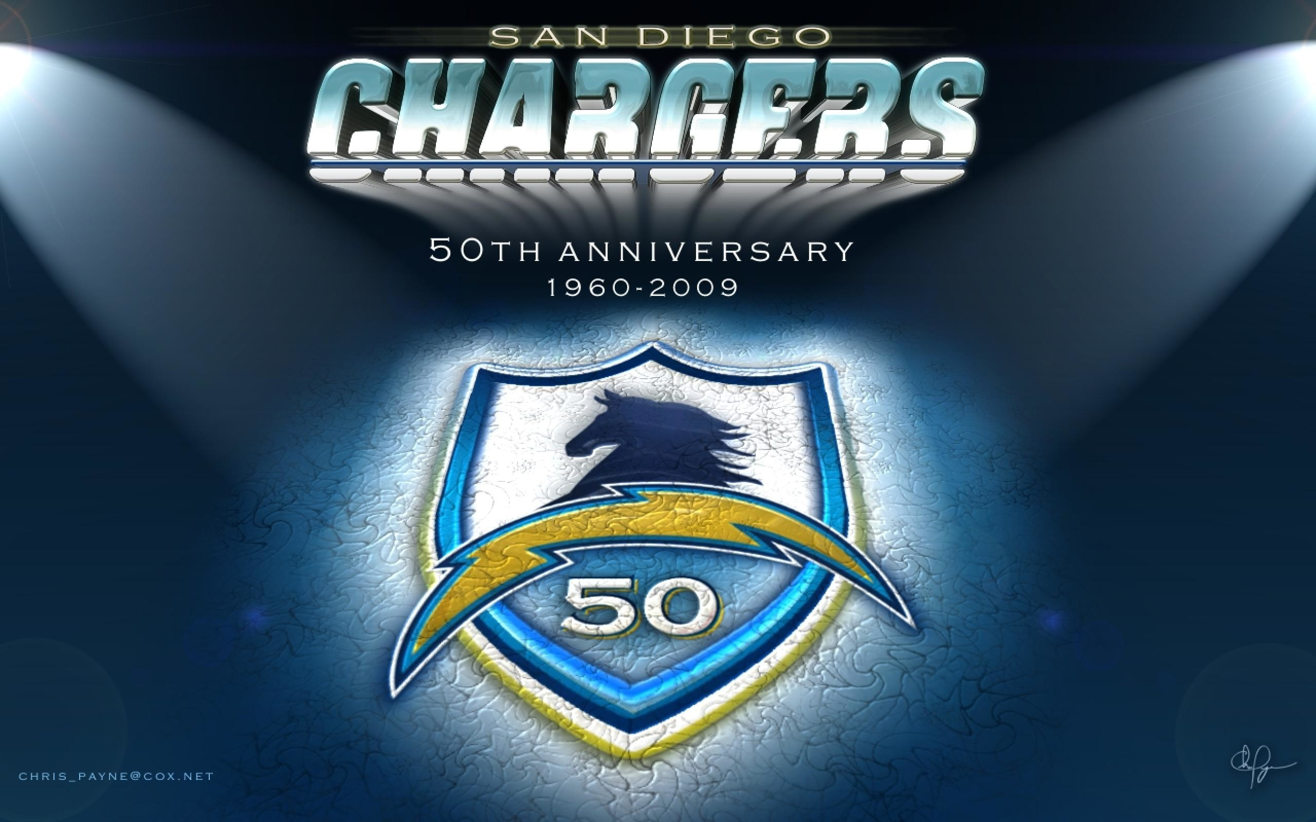 2560x1600 San Diego Charger Wallpaper