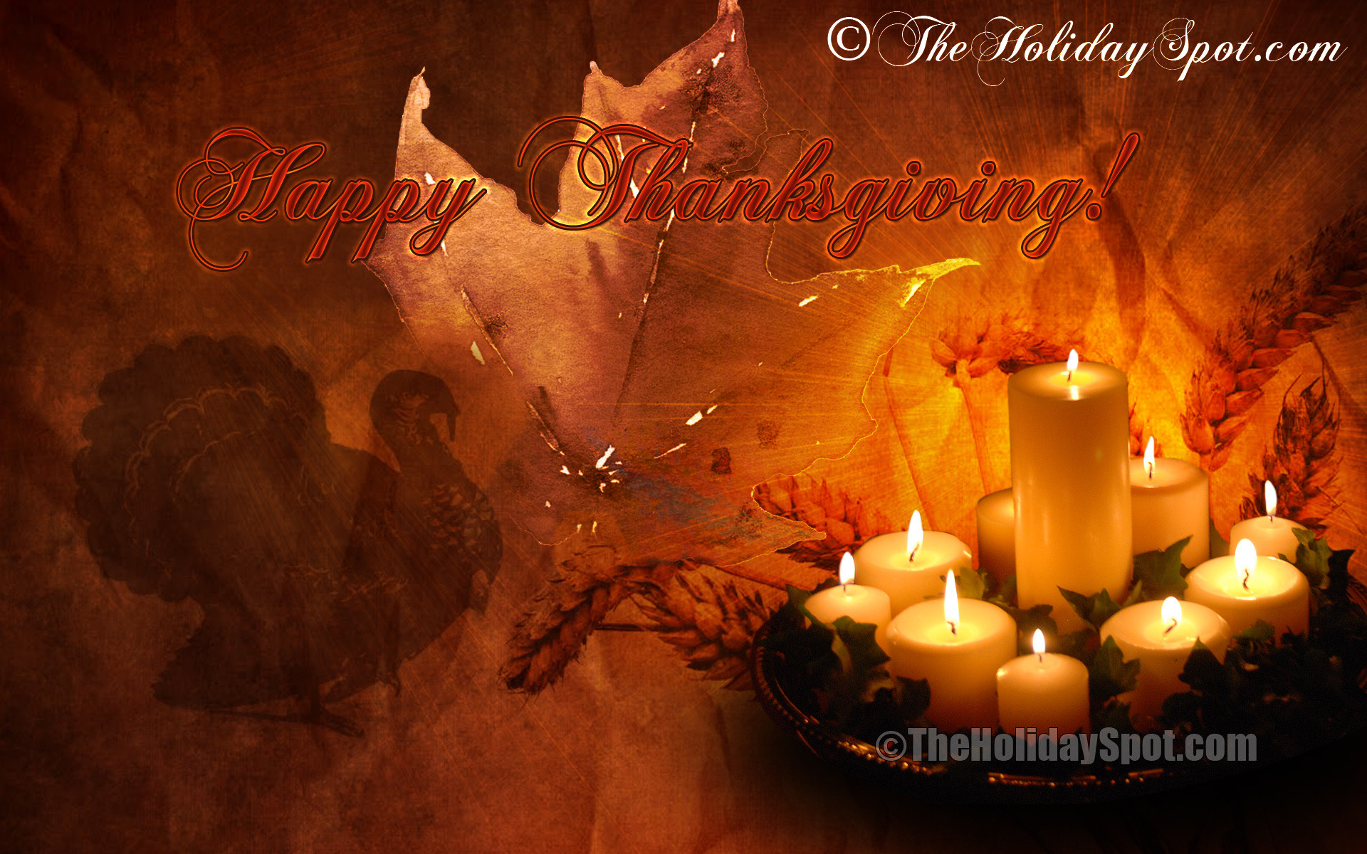 1920x1200 Thanksgiving Animated Wallpapers