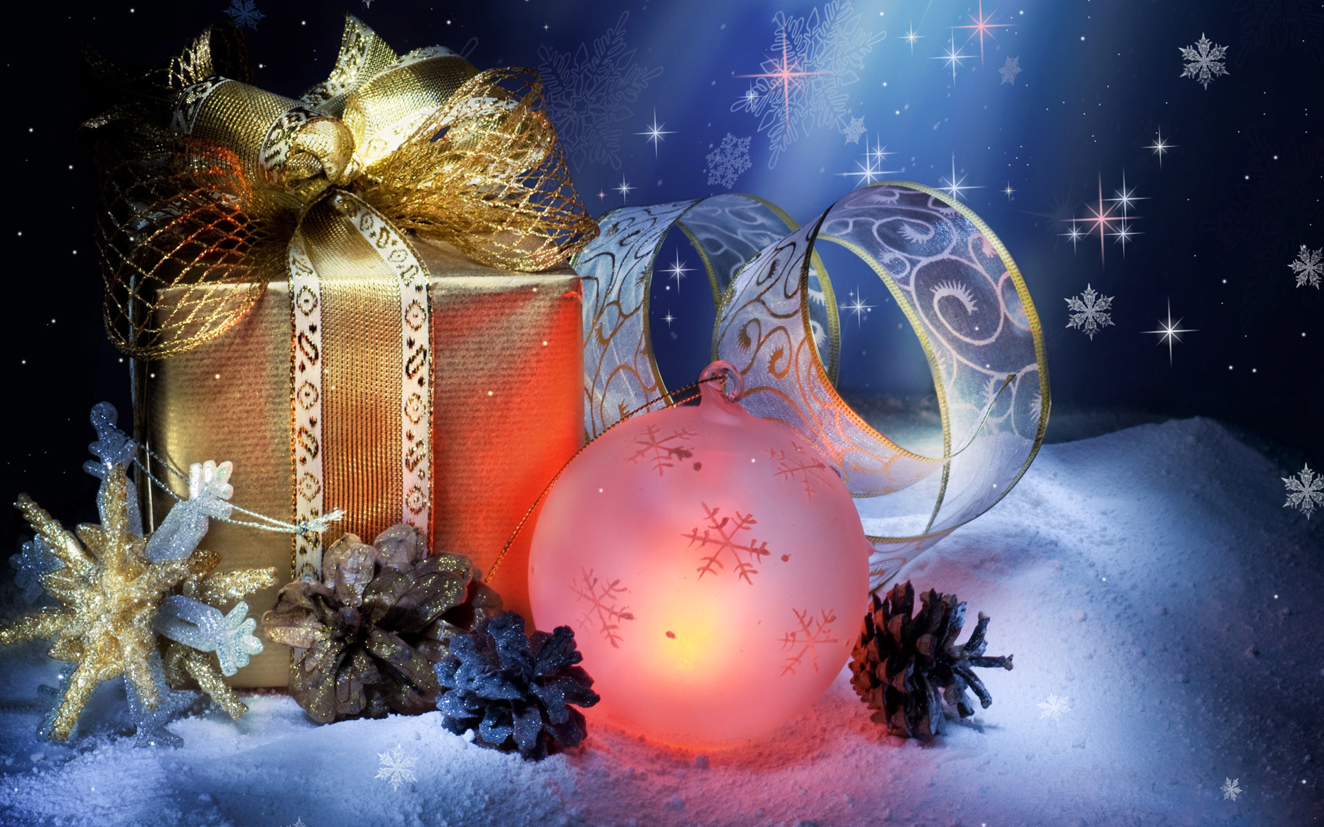 1920x1200 Free Download Christmas Wallpapers And Screensavers