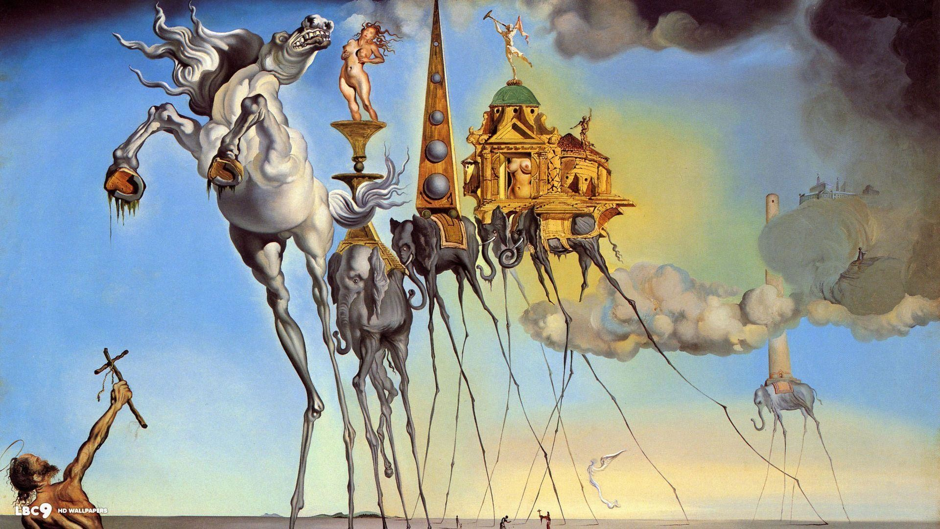 1920x1080 salvador dali wallpaper 36/38 | paintings hd backgrounds