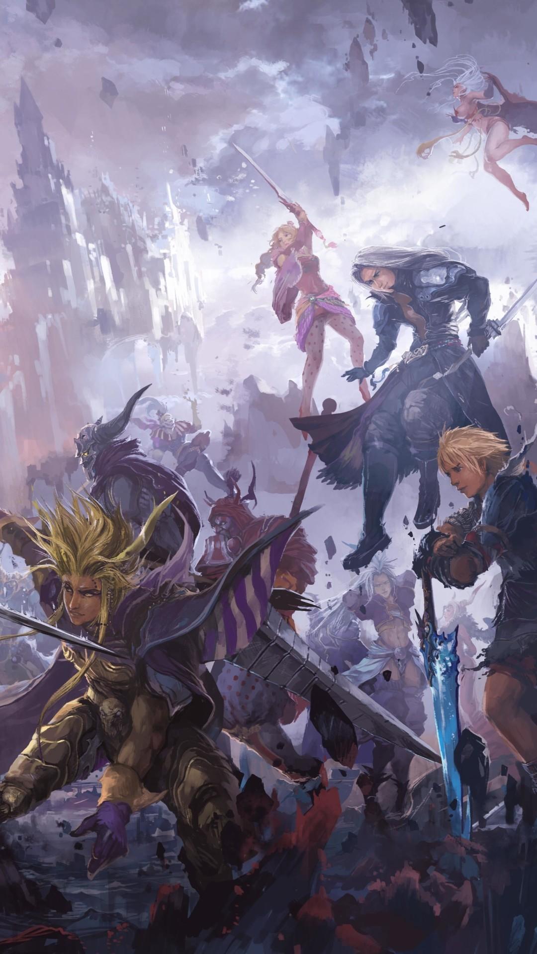 Final fantasy dissidia wallpaper 62 images - Fantasy game wallpaper ...