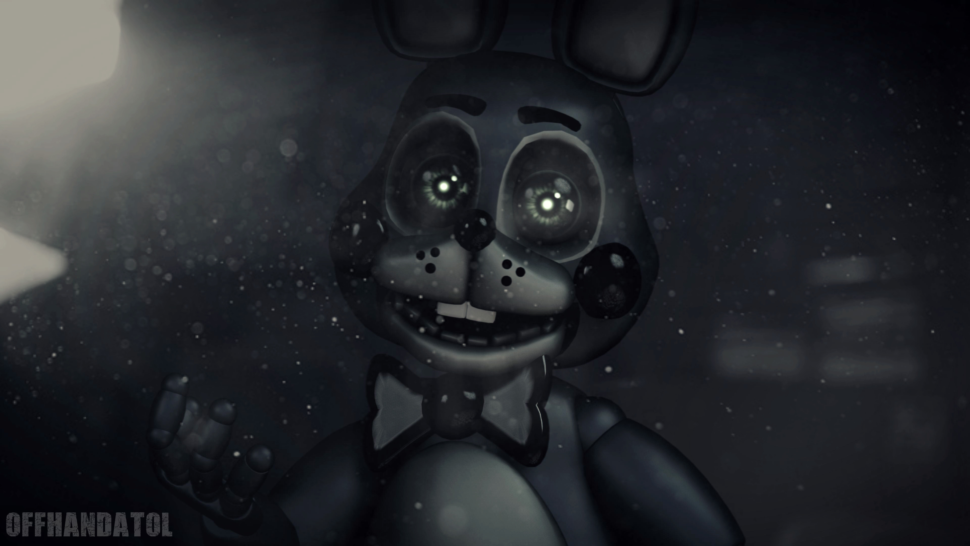 3840x2160 Toy Bonnie Wallpaper by offhandatol Toy Bonnie Wallpaper by offhandatol