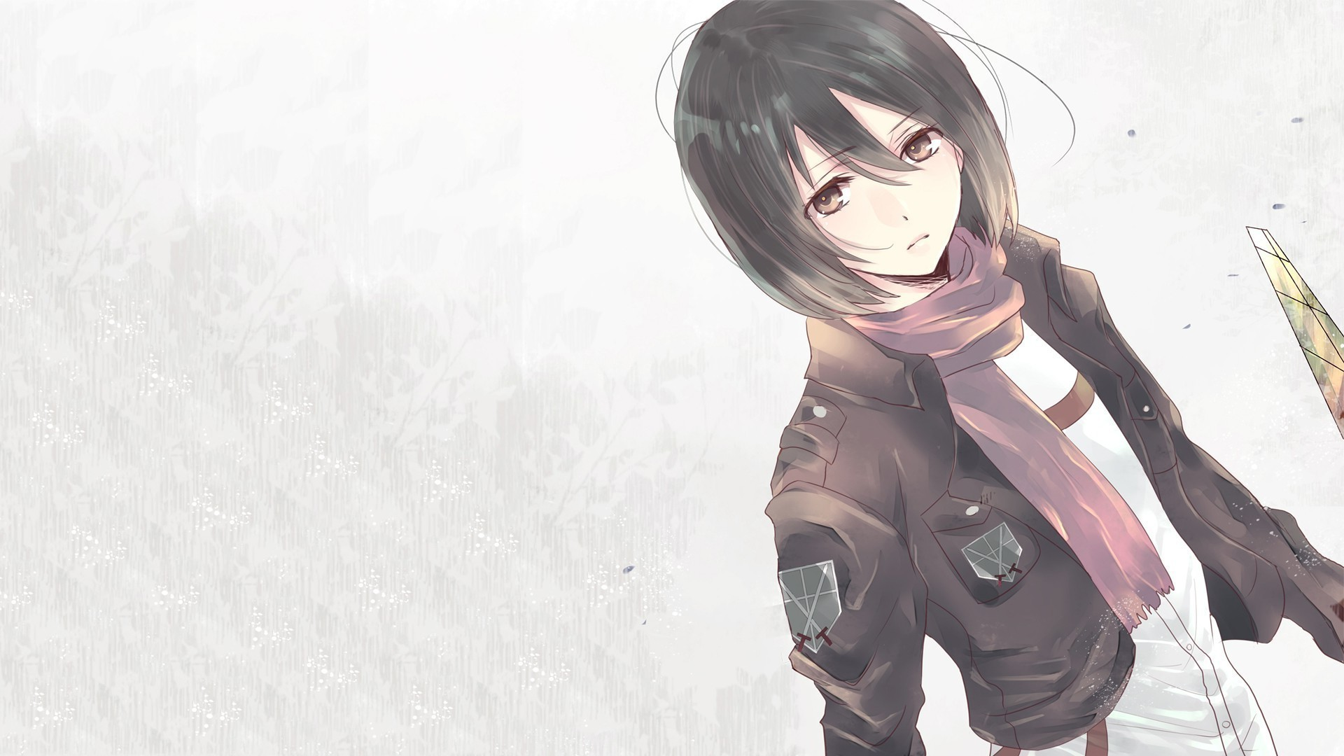 1920x1080 9 Attack On Titan Iphone Wallpaper Mikasa