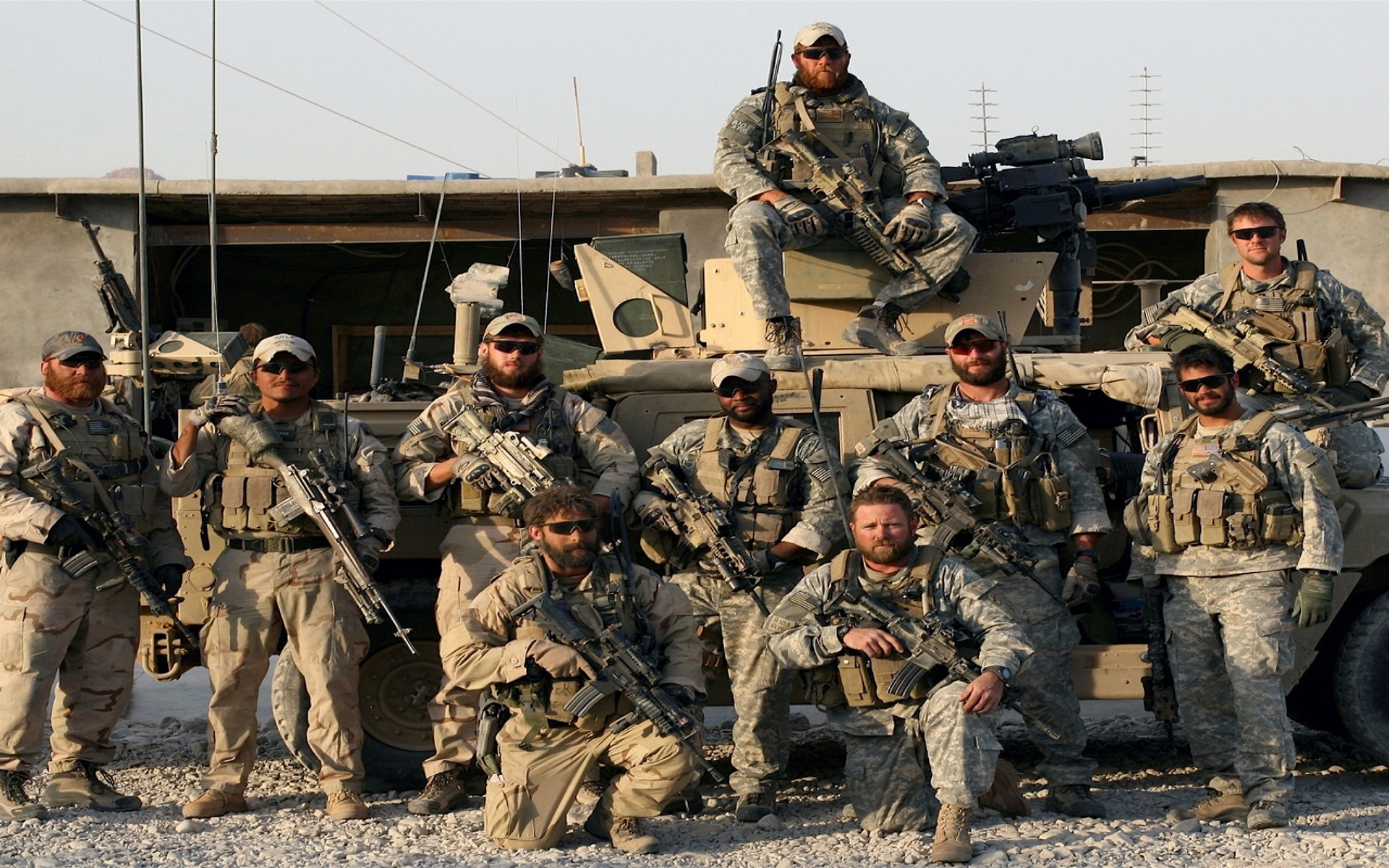 1920x1200 US Army Special Forces, Afghanistan