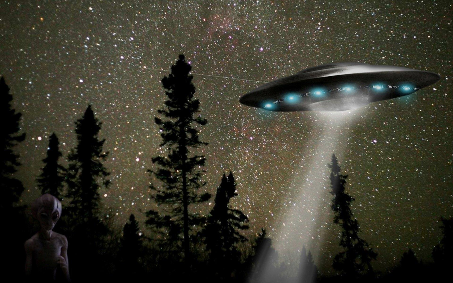 Alien Spaceship Wallpaper (74+ Images