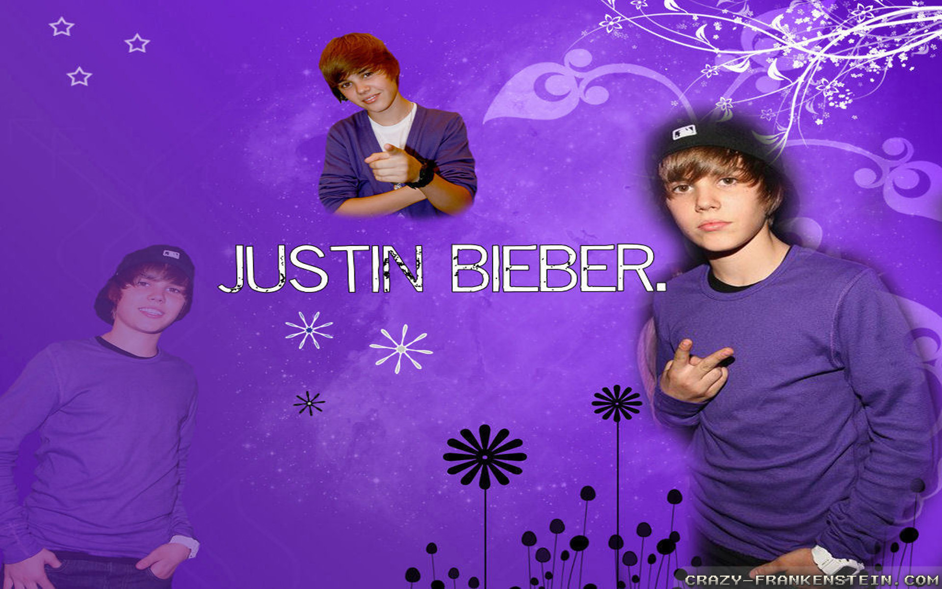 1920x1200 Wallpaper: Justin Bieber purple wallpapers. Resolution: 1024x768 |  1280x1024 | 1600x1200. Widescreen Res: 1440x900 | 1680x1050 |