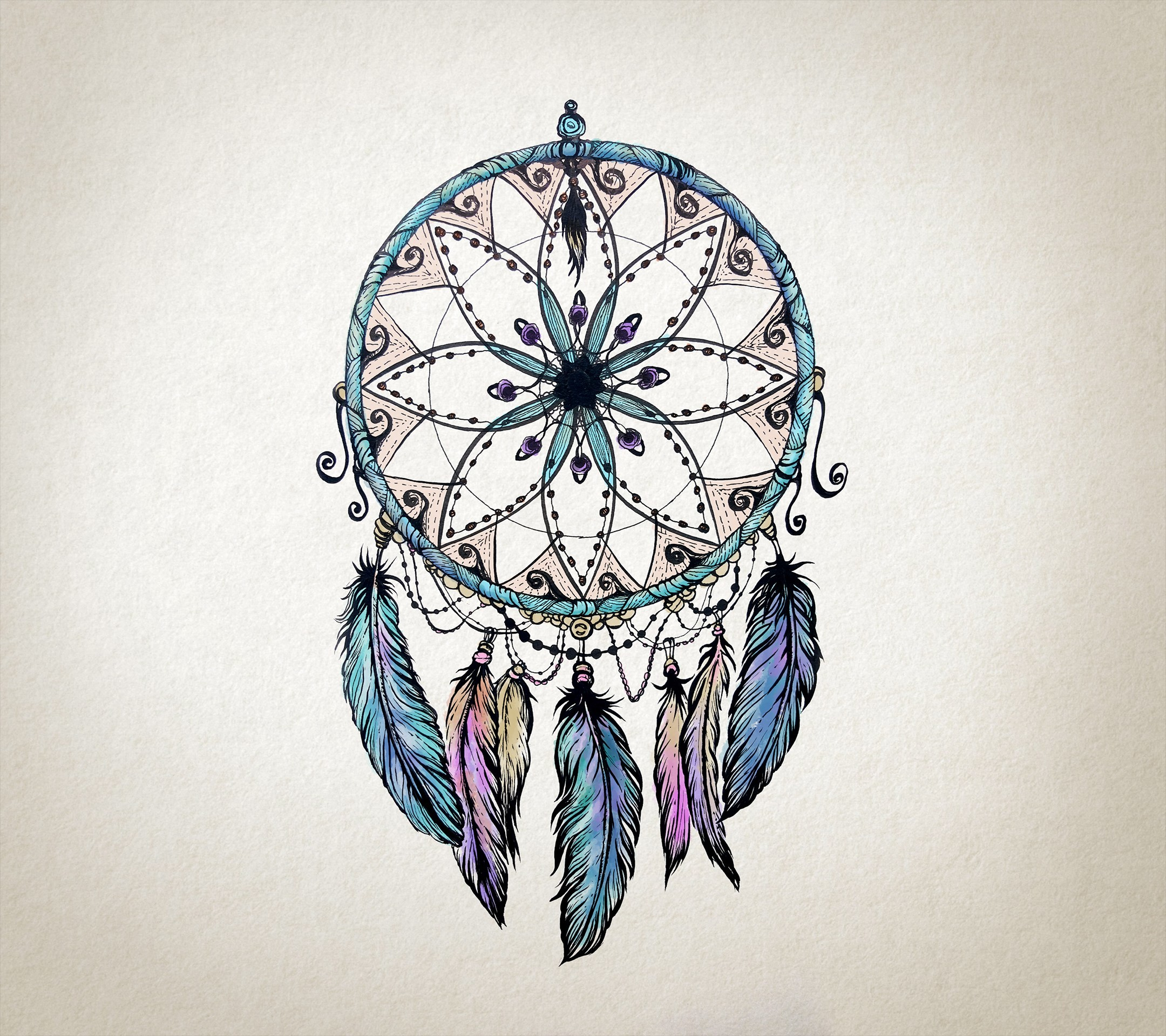 Pictures Of Dream Catchers: Colorful Dream Catcher Wallpaper (57+ Images