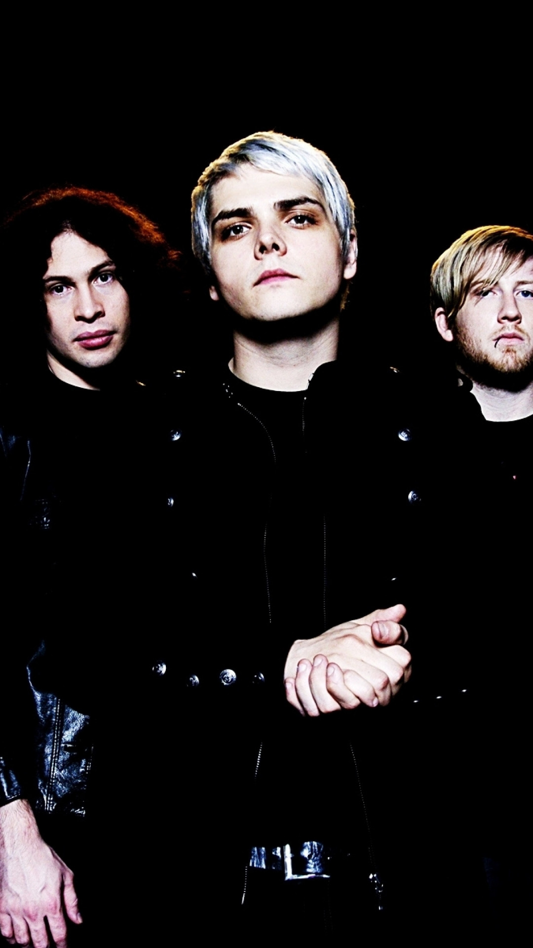 1080x1920  Wallpaper my chemical romance, band, members, look, background