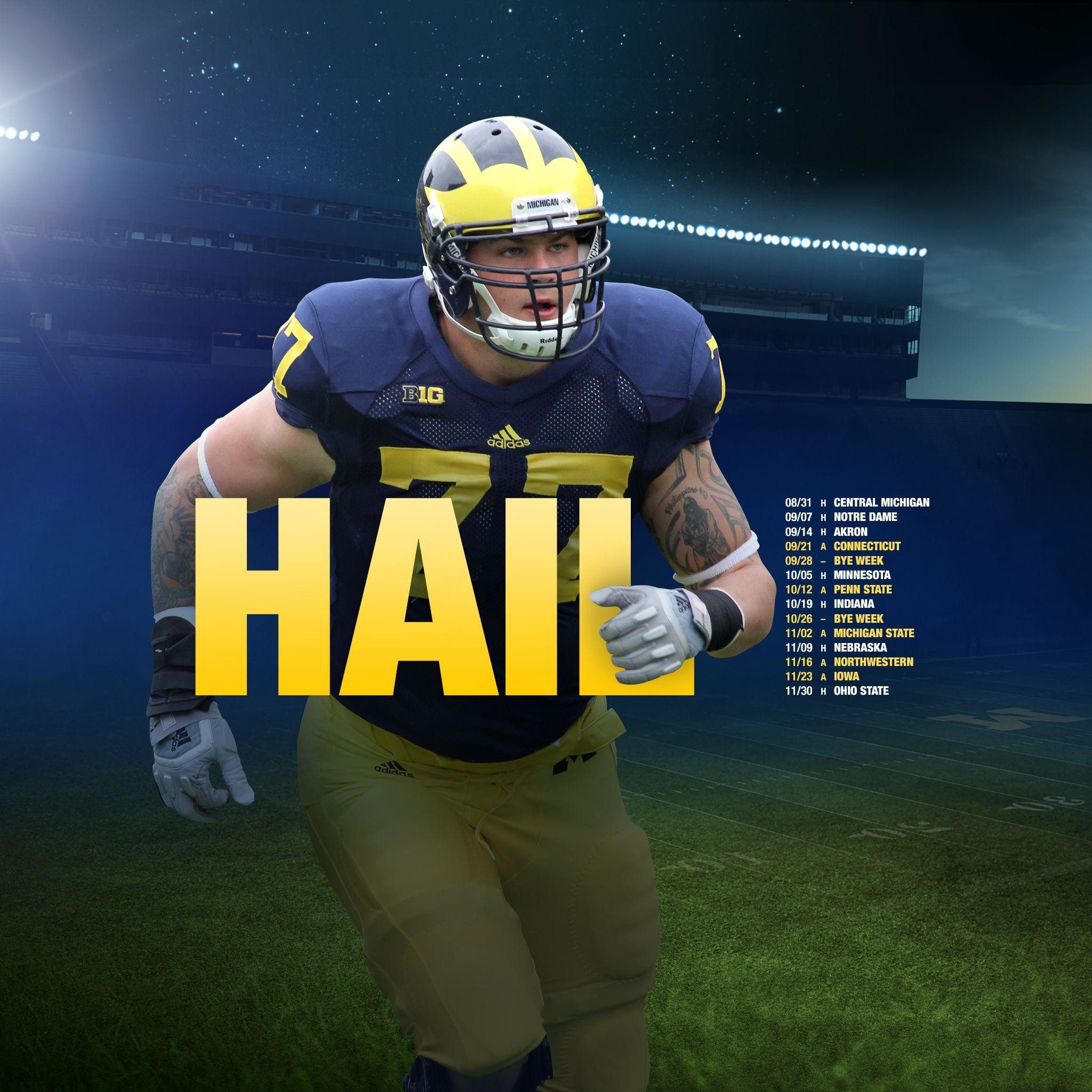 Michigan Football Desktop Wallpaper (71+ Images
