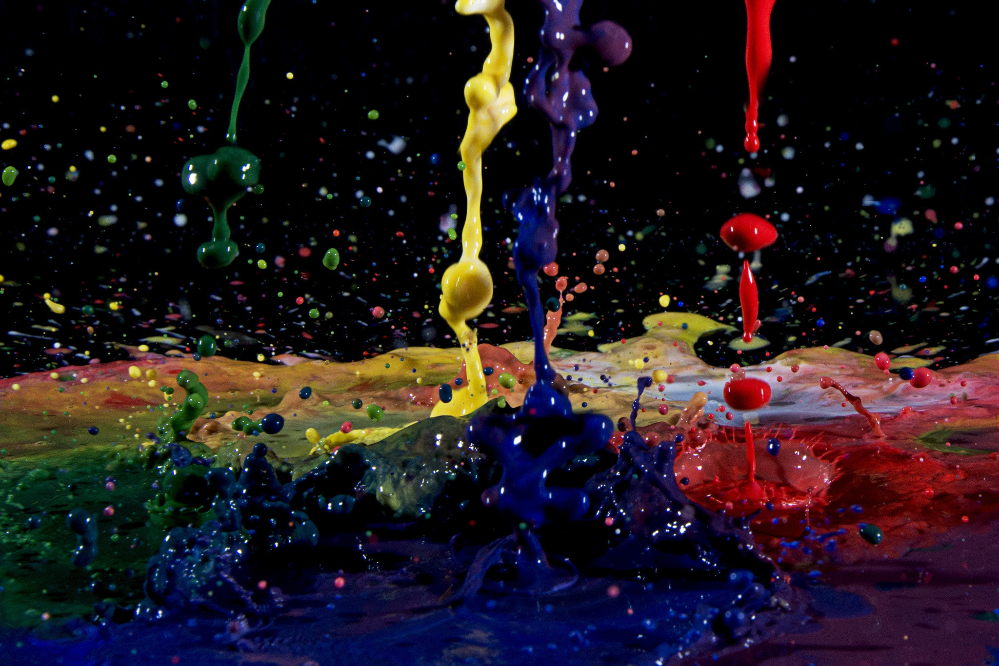 1920x1080 Splash Colors Abstract Desktop Wallpaper Hd