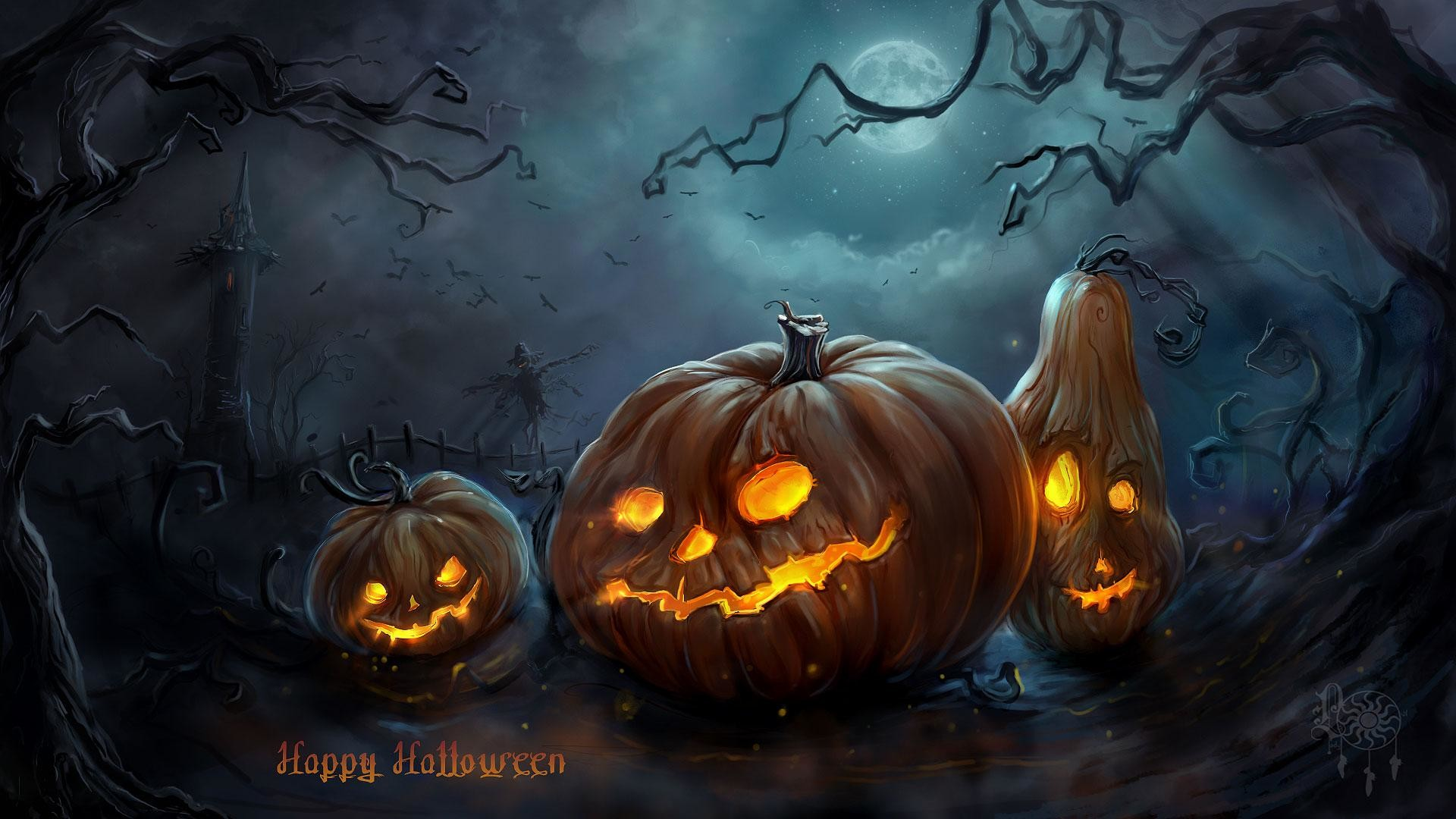 1920x1080 Free Halloween Wallpaper For Android