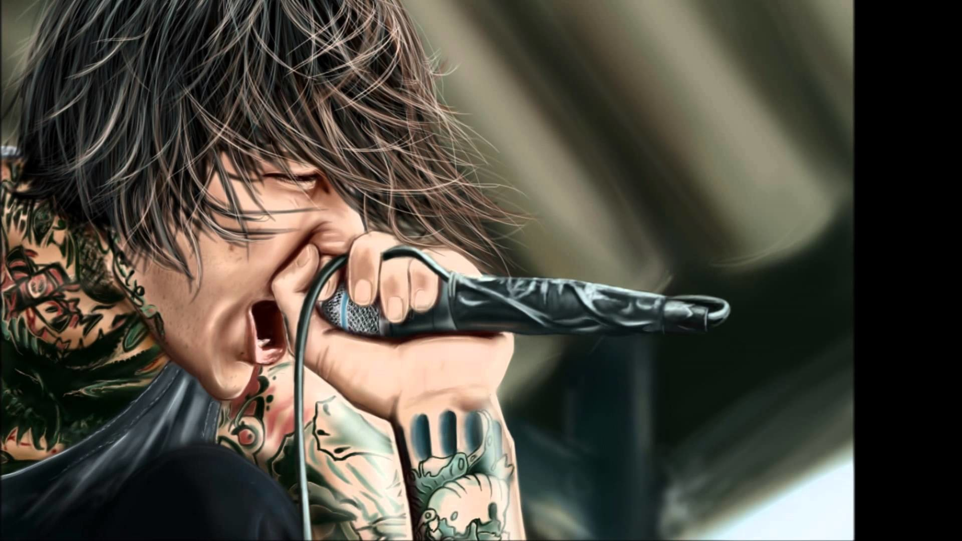 1920x1080 Mitch Lucker Wallpaper