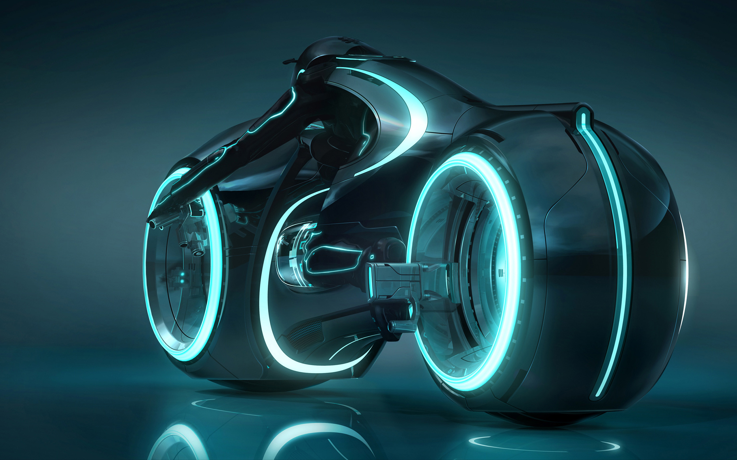 2560x1600 Tron Light Cycle