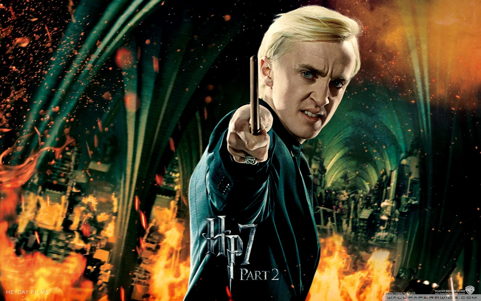 1920x1200 Tom Felton (Harry Potter and the Deathly Hollows