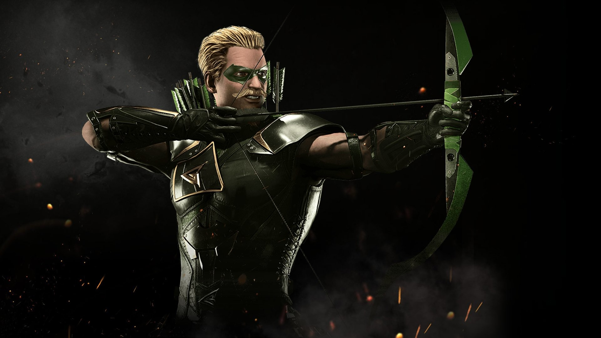 1920x1080 Video Game - Injustice 2 Green Arrow Wallpaper