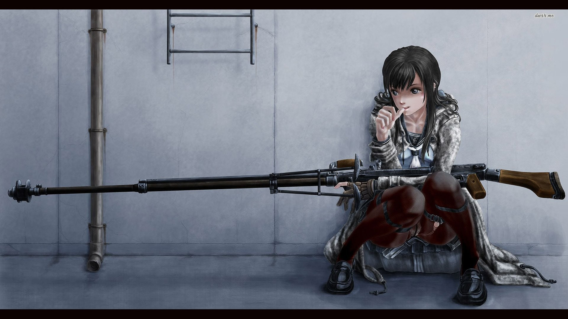 Sniper Rifle Snipers Artwork Wallpapers Hd Desktop And: Anime Sniper Wallpaper (62+ Images