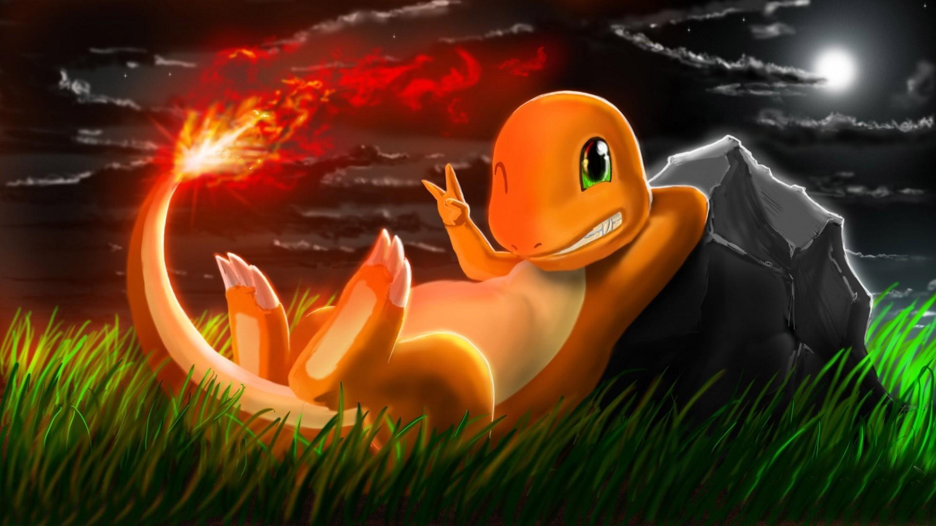 1920x1080 Charmander Pokemon wallpaper 878092