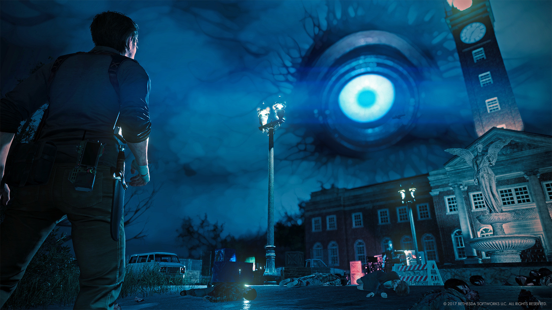 1920x1080 Big Eye The Evil Within 2 HD Wallpaper