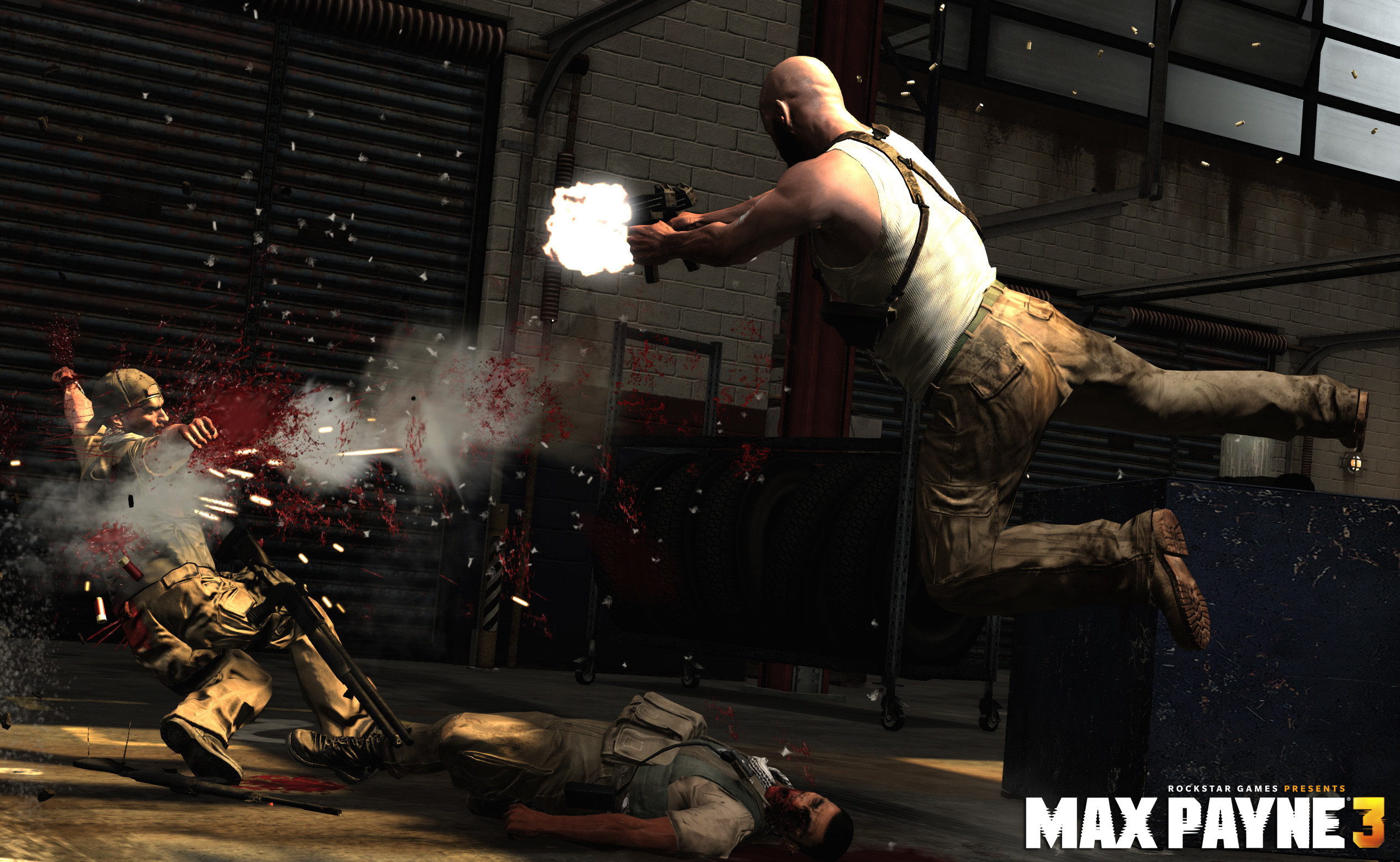 2556x1574 Some awesome wallpapers for the upcoming game Max Payne 3.