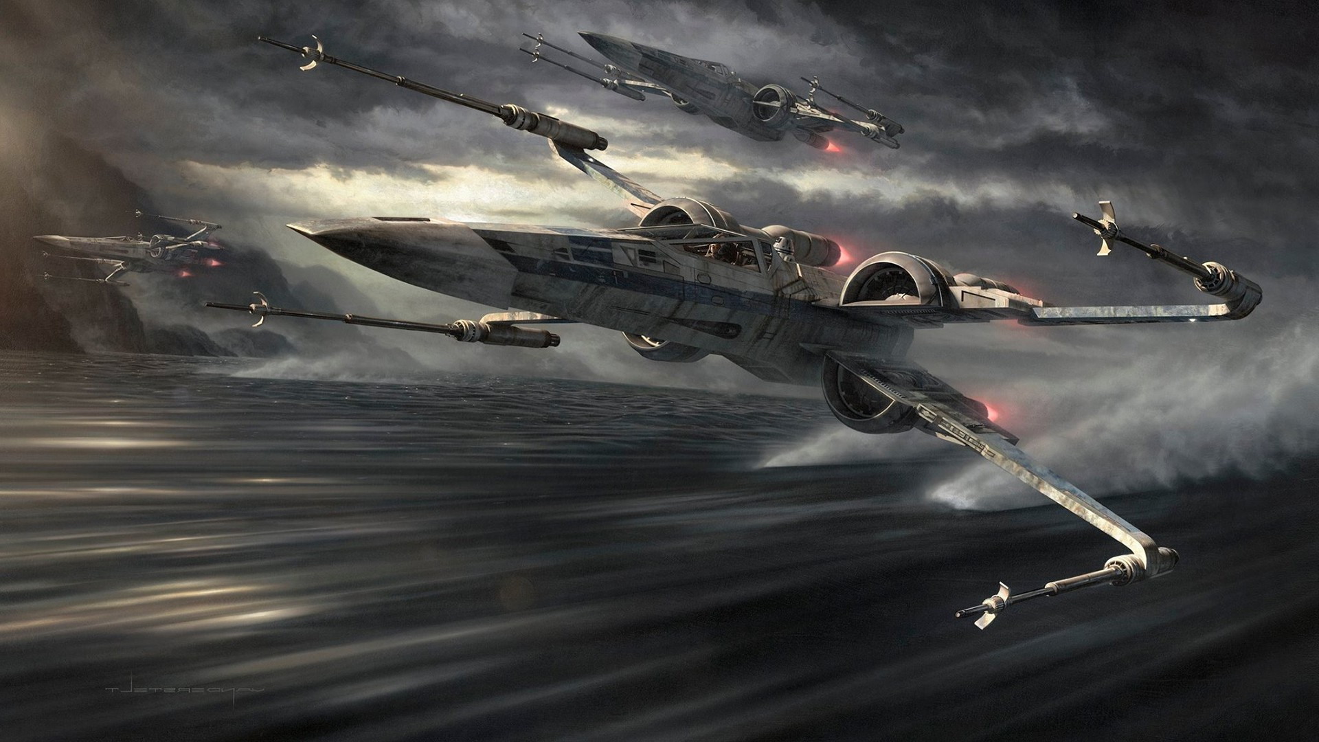 1920x1080 Download hd wallpapers of 301401-X-wing, Star Wars. Free download High