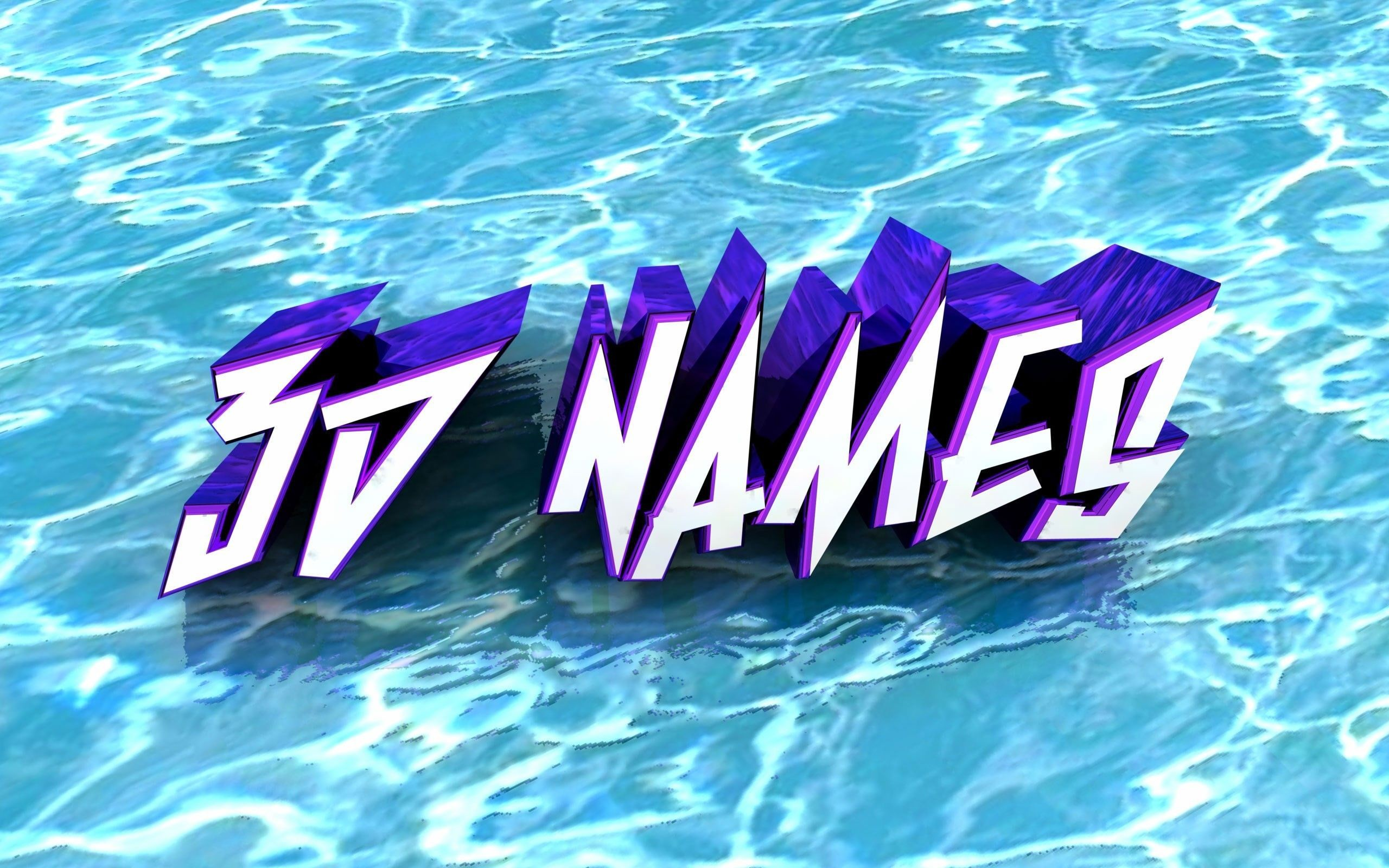 3D Names Wallpapers (62+ images)