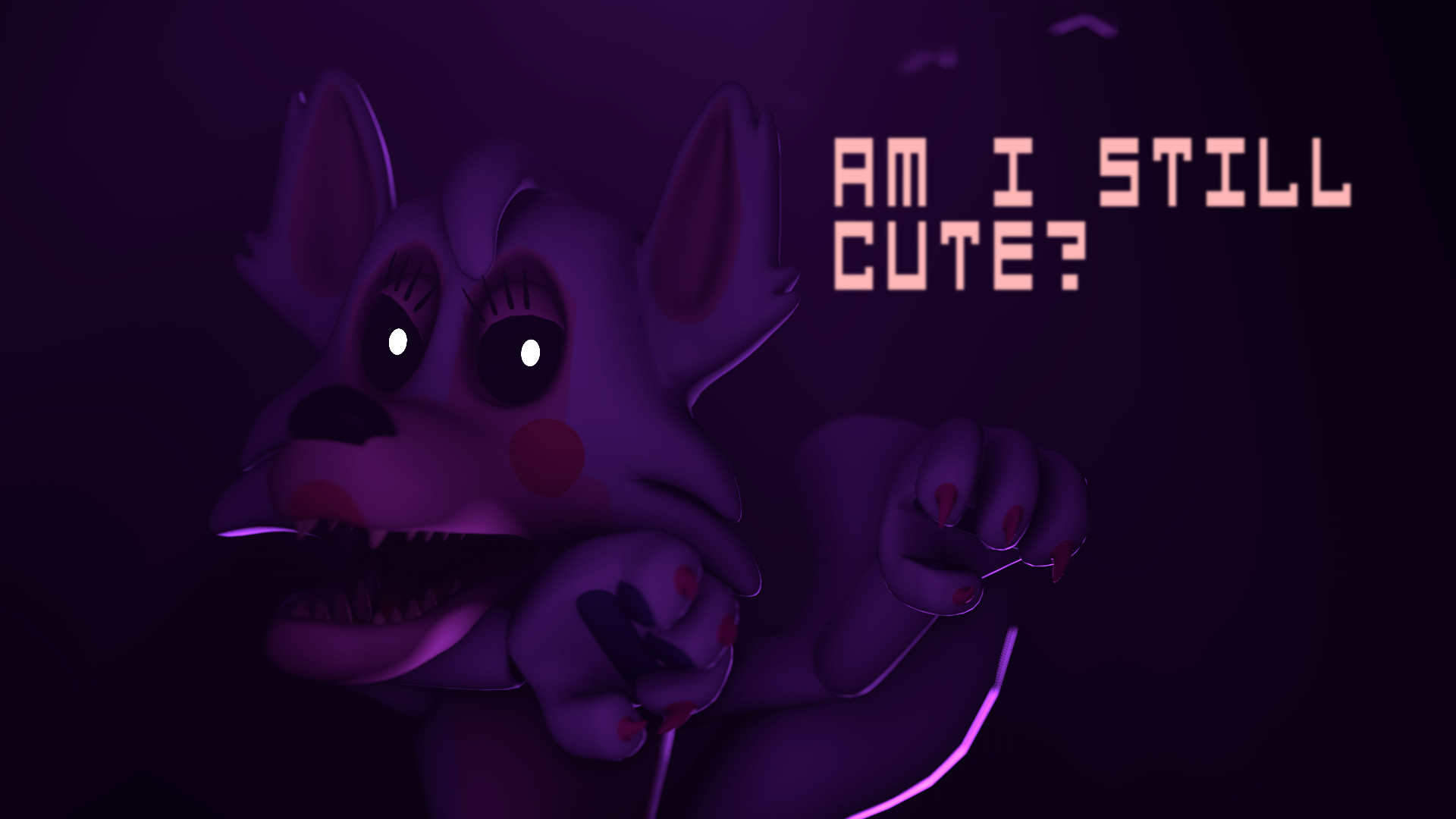 1920x1080 ArtworkI was using a cute Mangle picture as my wallpaper, my brother  thought it was stupid, in a fit of revenge, I made this.