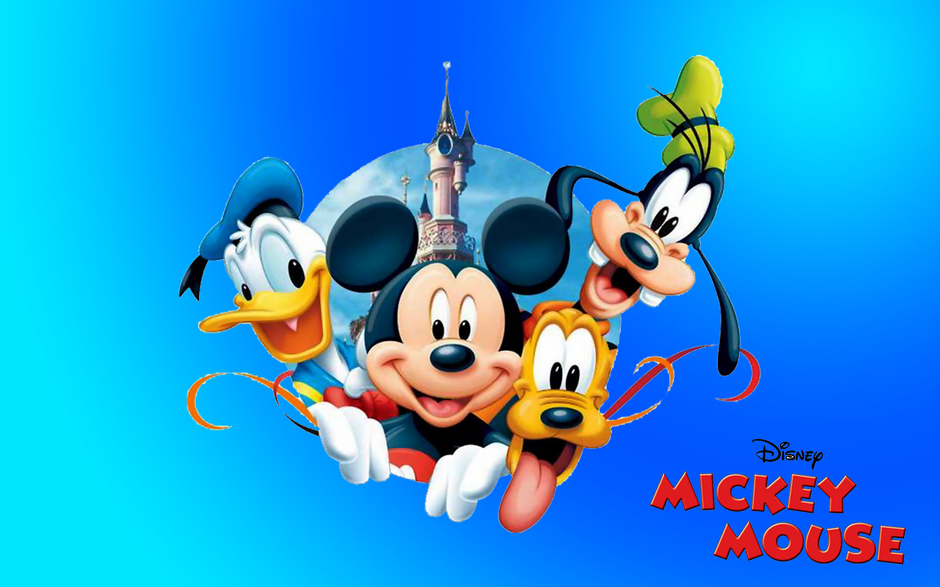 1920x1200 ... mickey mouse donald duck pluto and goofy new hd desktop wallpaper ...