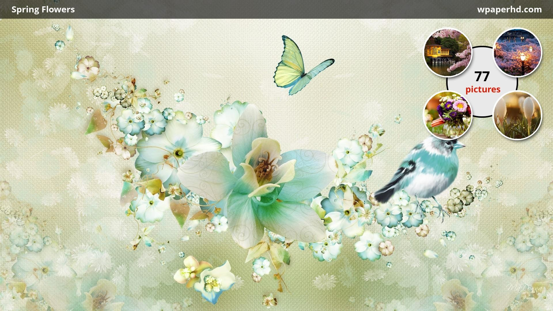 1920x1080 You are on page with Spring Flowers wallpaper, where you can download this  picture in Original size and ...