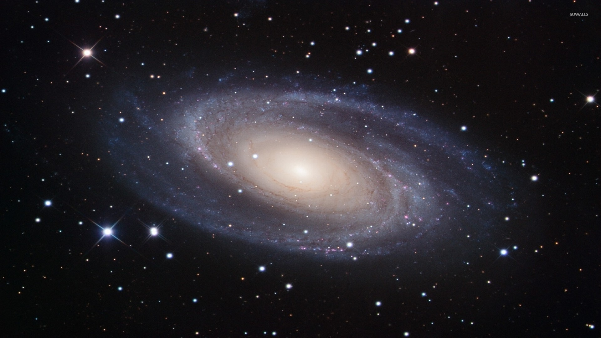 1920x1080 Messier 81 Spiral Galaxy wallpaper