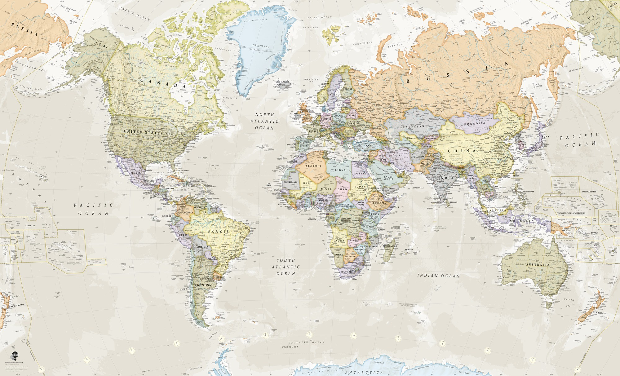 Antique World Map Wallpaper (39+ Images