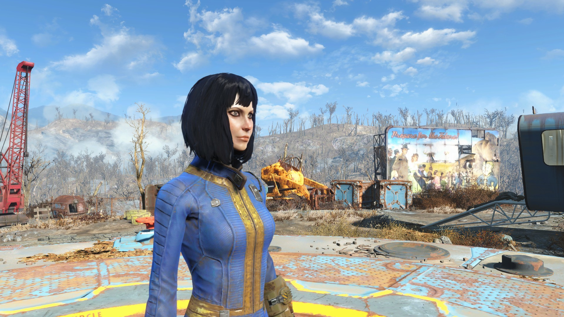 1920x1080 Vault Meat Character at Fallout 4 Nexus - Mods and community