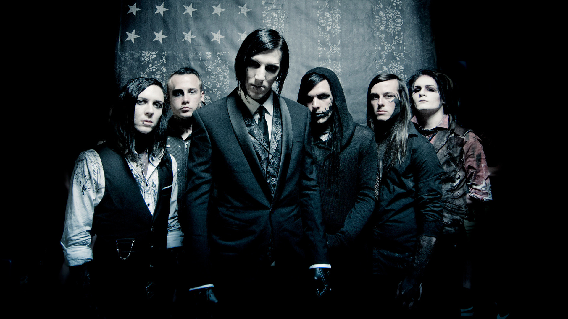 1920x1080 Motionless in white desktop clipart