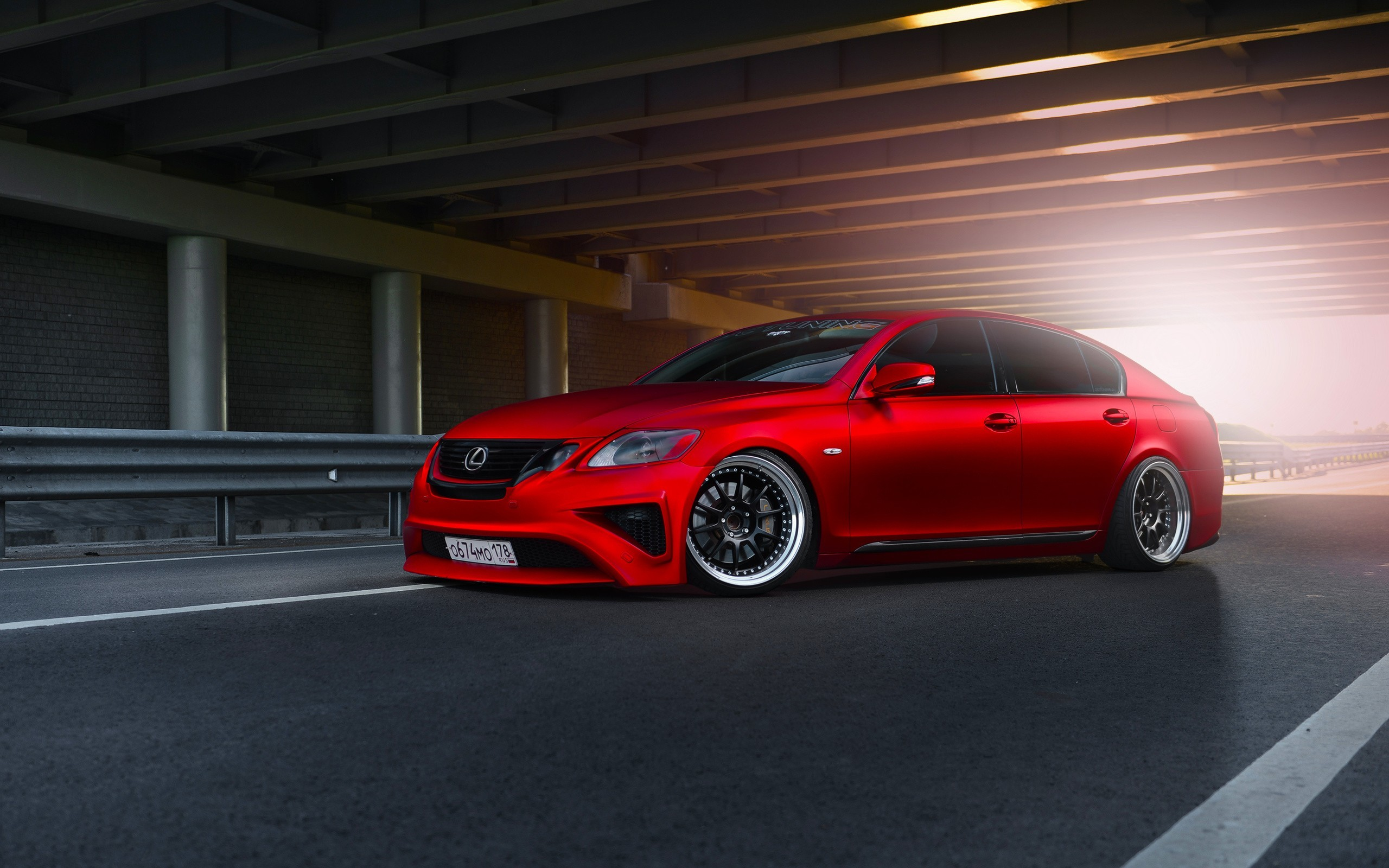 2560x1600 Lexus Red Car Wallpaper 00697