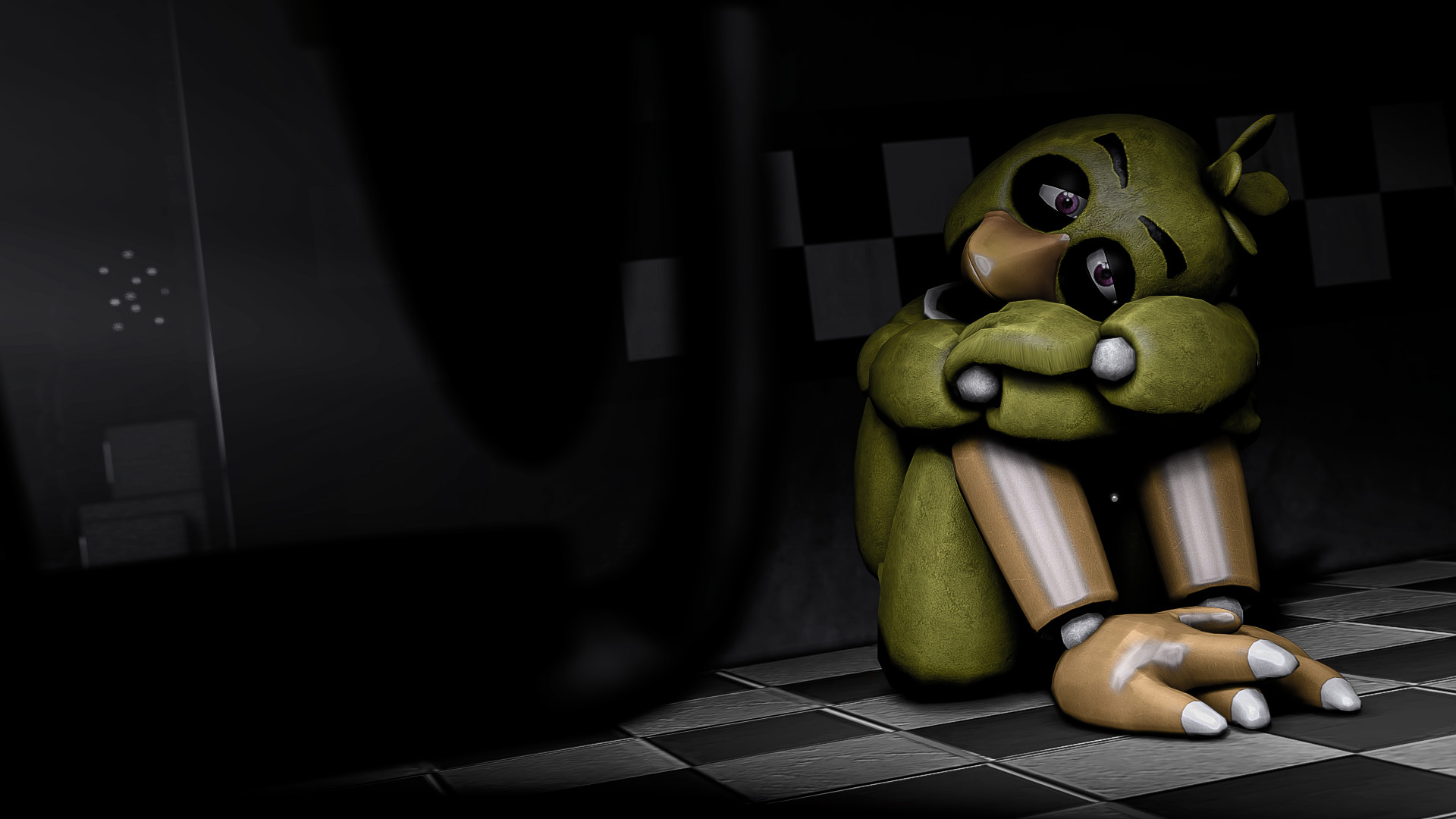 1920x1080 Now I live with regret (SFM Wallpaper) by gold94chica on DeviantArt