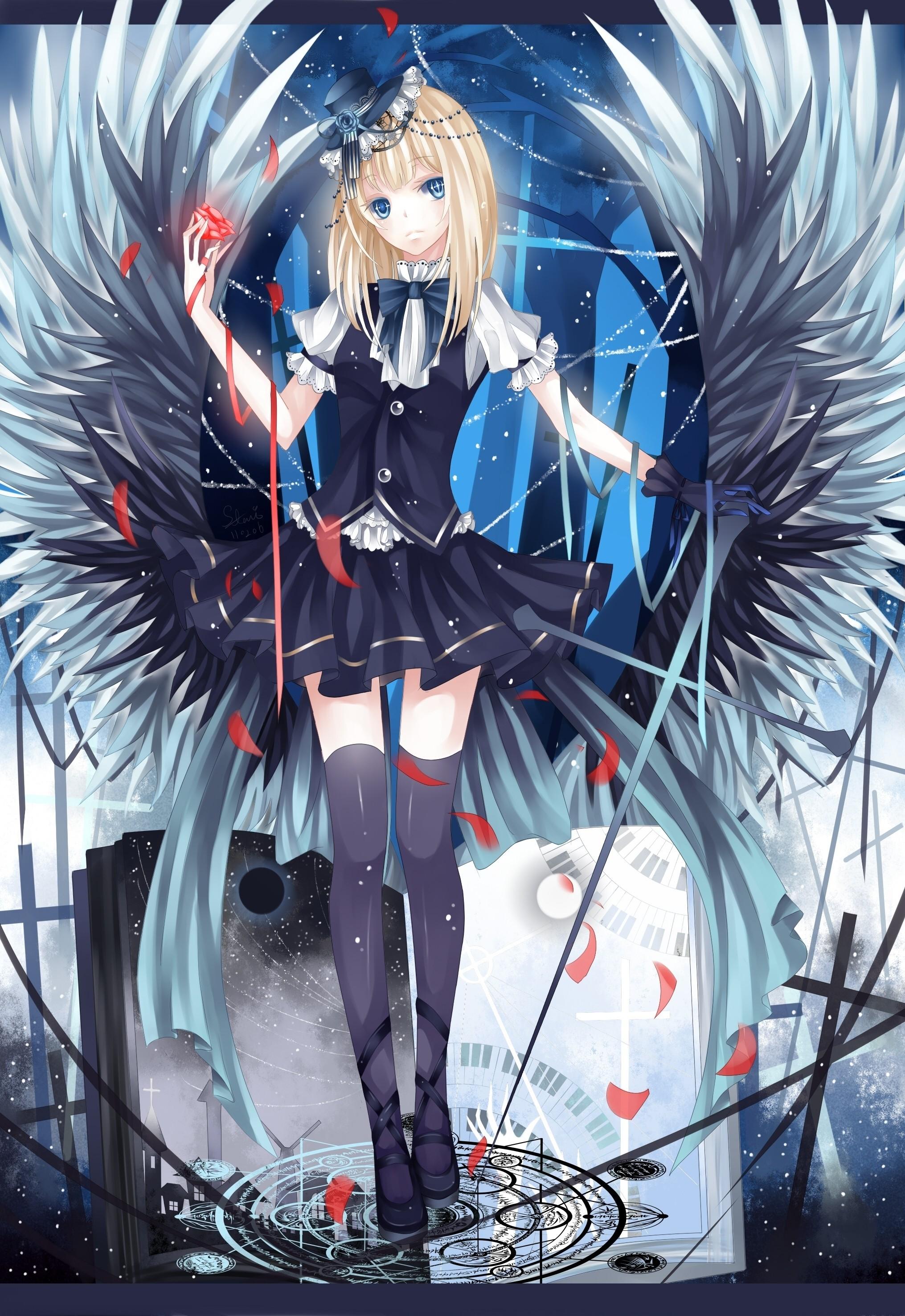 Gothic anime wallpaper 69 images - Dark anime girl pics ...