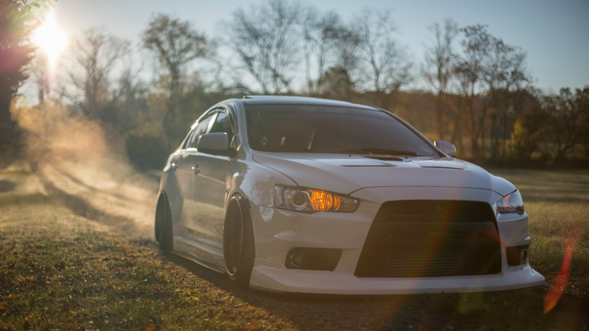 1920x1080 Mitsubishi Lancer Evolution X in the country wallpapers and images -  wallpapers, pictures, photos