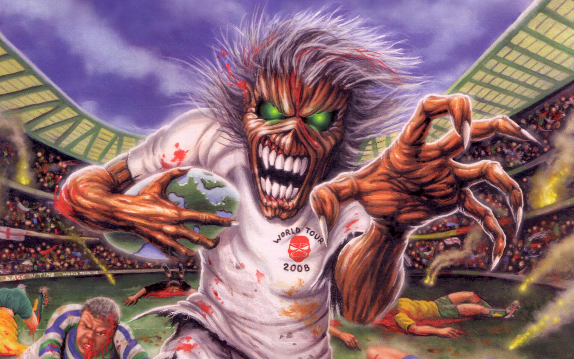Iron Maiden Eddie Wallpaper (73+ images)