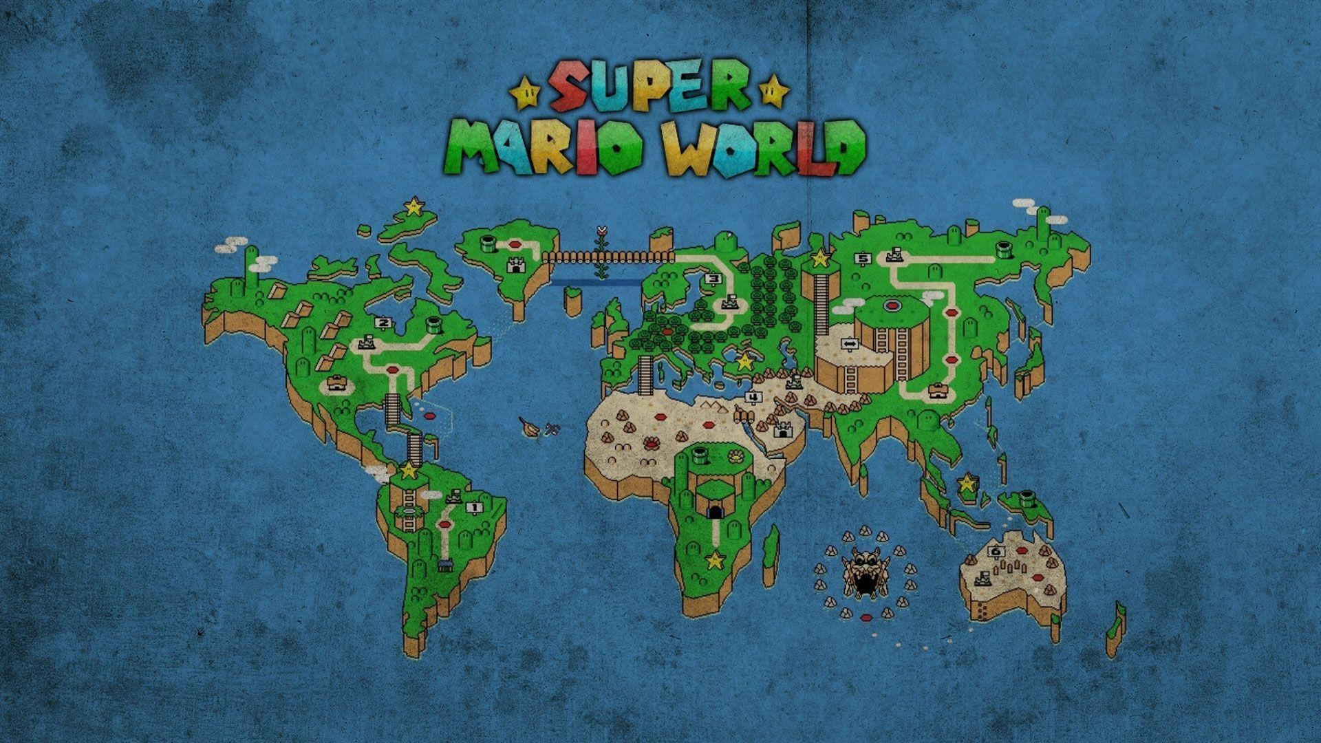 Super mario world map wallpaper 56 images 1920x1080 fonds dcran super mario world tous les wallpapers super mario gumiabroncs Image collections